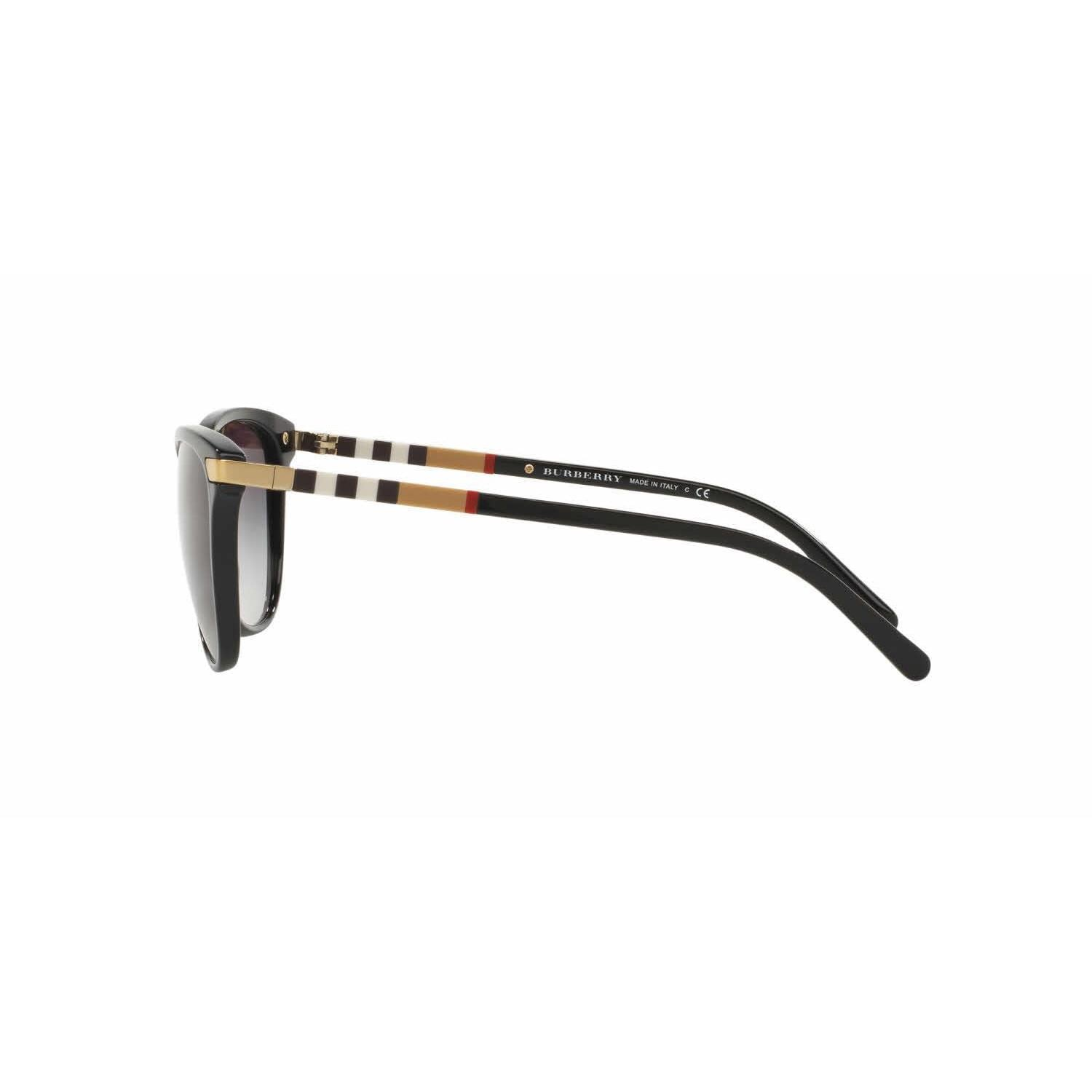 5042970d8b Shop Burberry Women BE4216 30018G Black Plastic Cat Eye Sunglasses - Free  Shipping Today - Overstock - 13318824