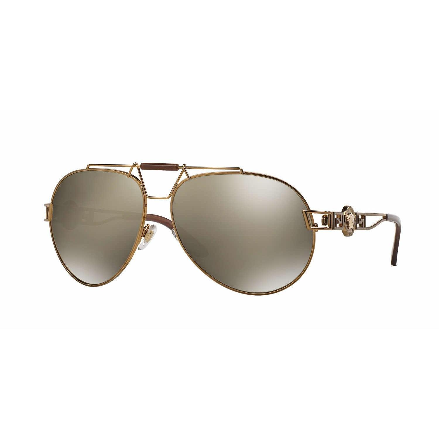 d538f25cc8e Shop Versace Women VE2160 13485A Bronze Copper Cateye Sunglasses - Free  Shipping Today - Overstock - 13322307
