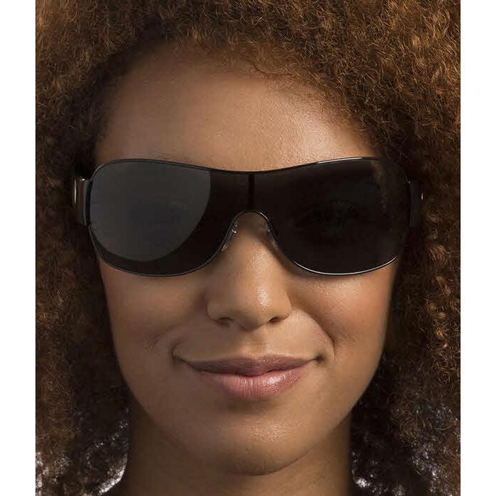 1c58e2ca056e6 Shop Versace Women VE2101 100987 Black Plastic Square Sunglasses - Free  Shipping Today - Overstock - 13322327