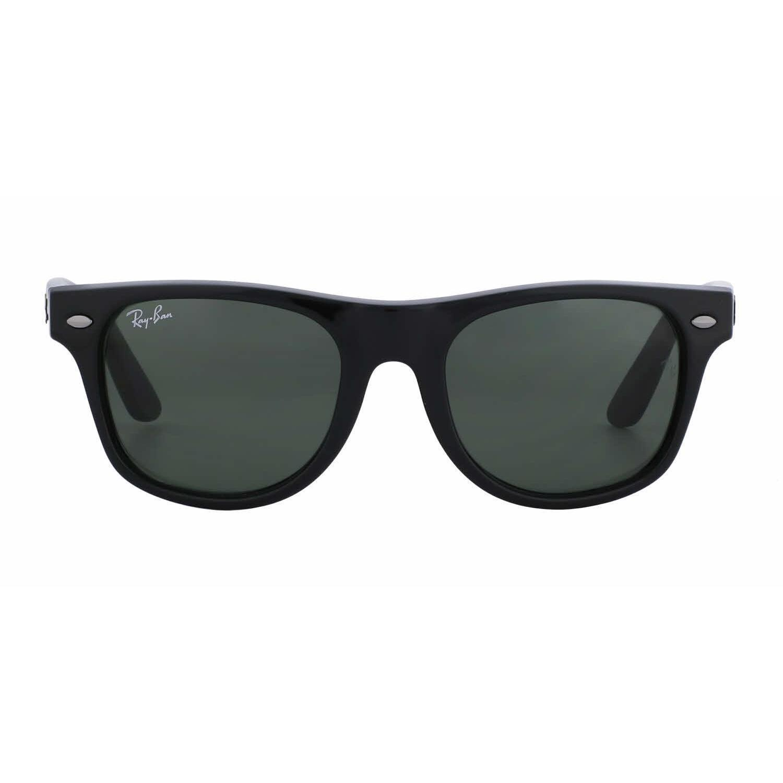 bc14c90345 ... best price shop ray ban junior rj9035s junior wayfarer 100 71 black  plastic square sunglasses free