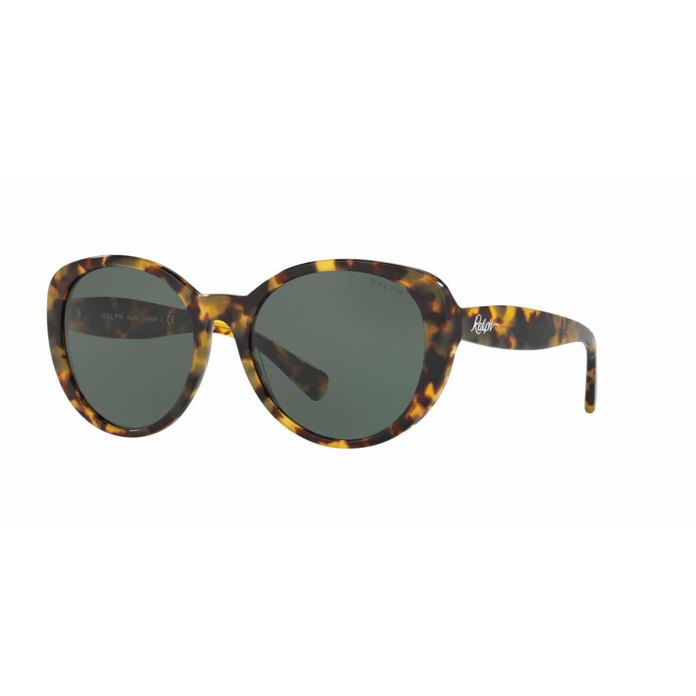 ca128da4e6 Shop Ralph Women RA5212 149971 Havana Plastic Cat Eye Sunglasses - Free  Shipping Today - Overstock.com - 13322457
