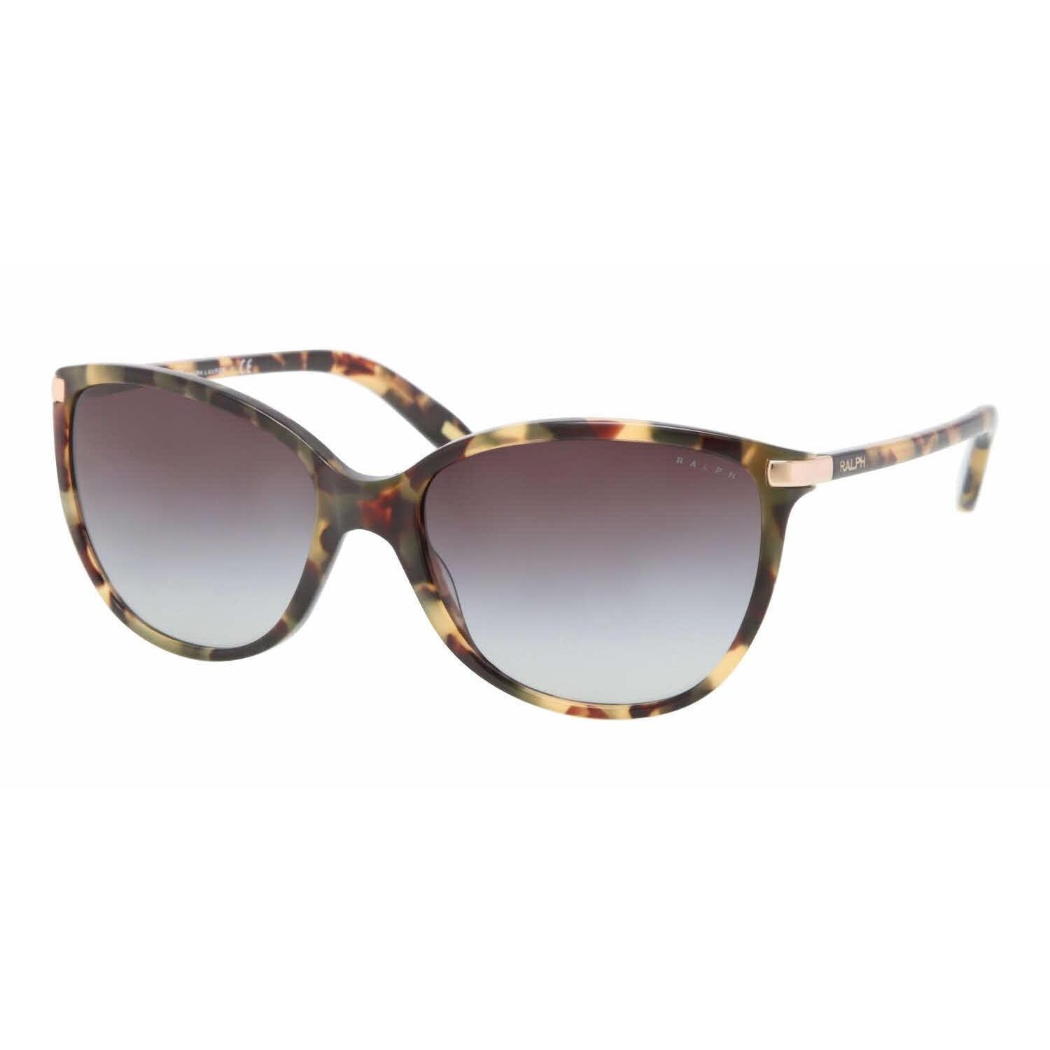 17f2edf87ea0e Shop Ralph Women RA5160 905 13 Havana Plastic Cat Eye Sunglasses - Free  Shipping Today - Overstock - 13322570