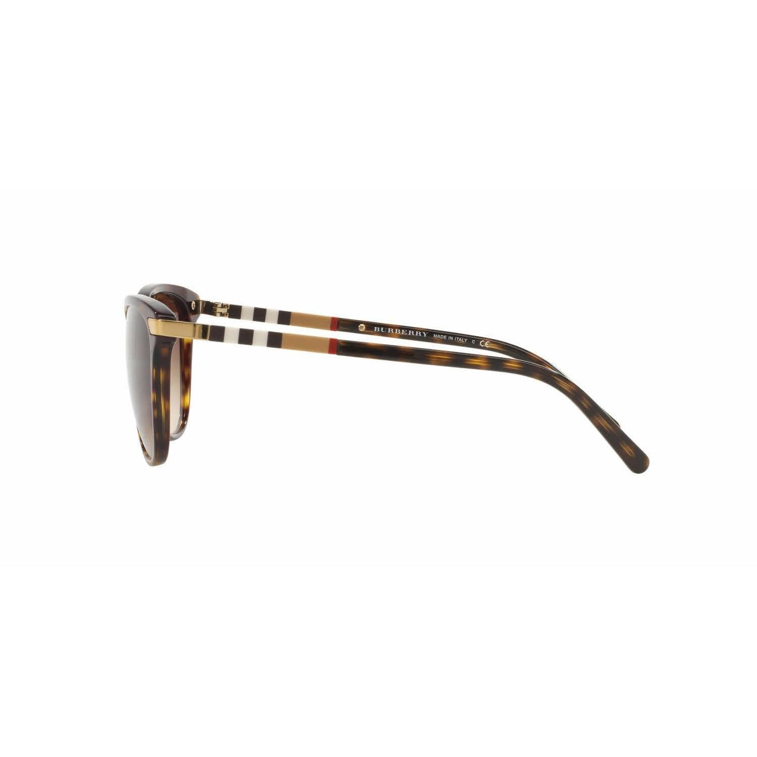 9557c5995a86 Shop Burberry Women BE4216 300213 Havana Plastic Cat Eye Sunglasses - Free  Shipping Today - Overstock - 13322737