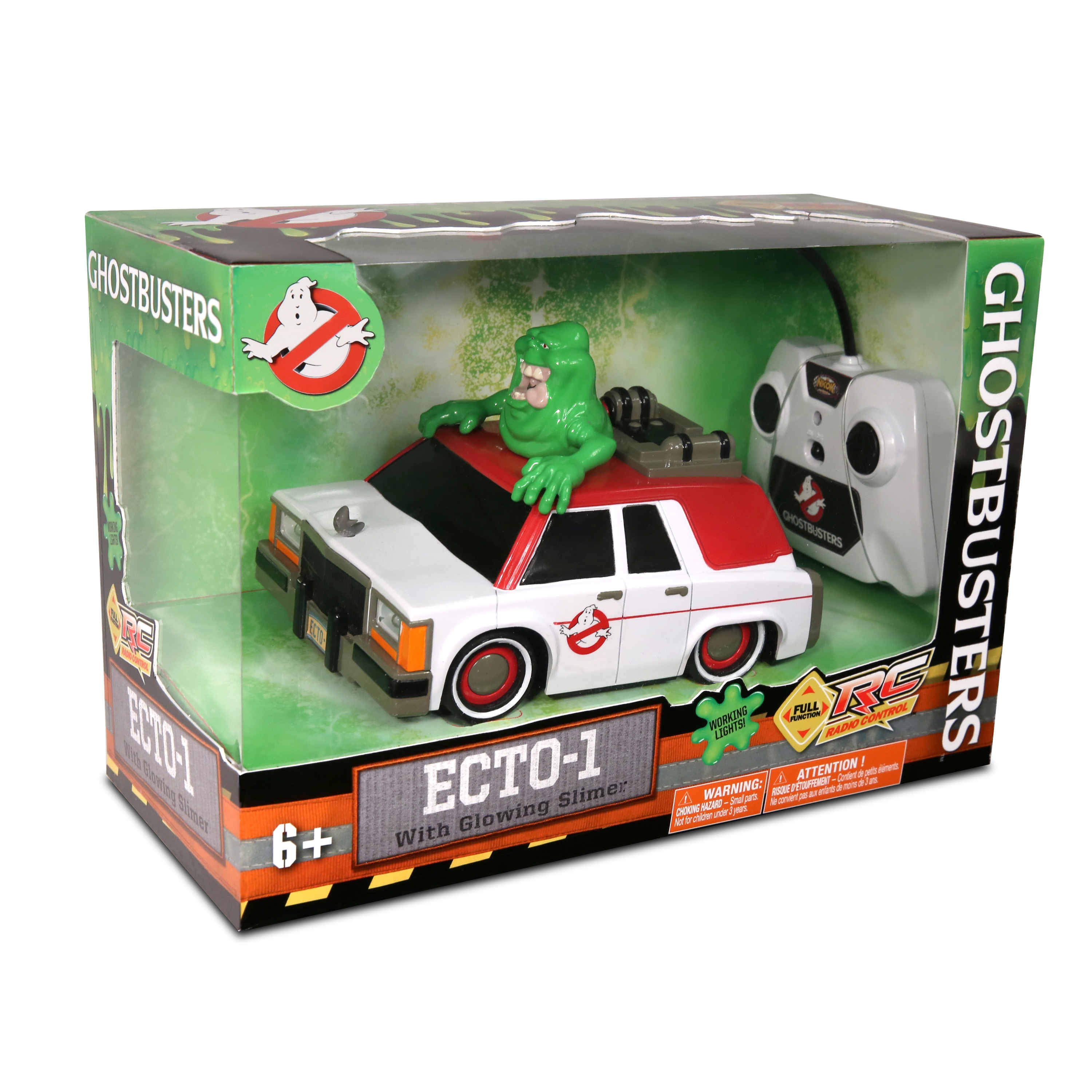 Shop Nkok Ghostbusters Multicolor Plastic Rc Ecto 1 With Glowing