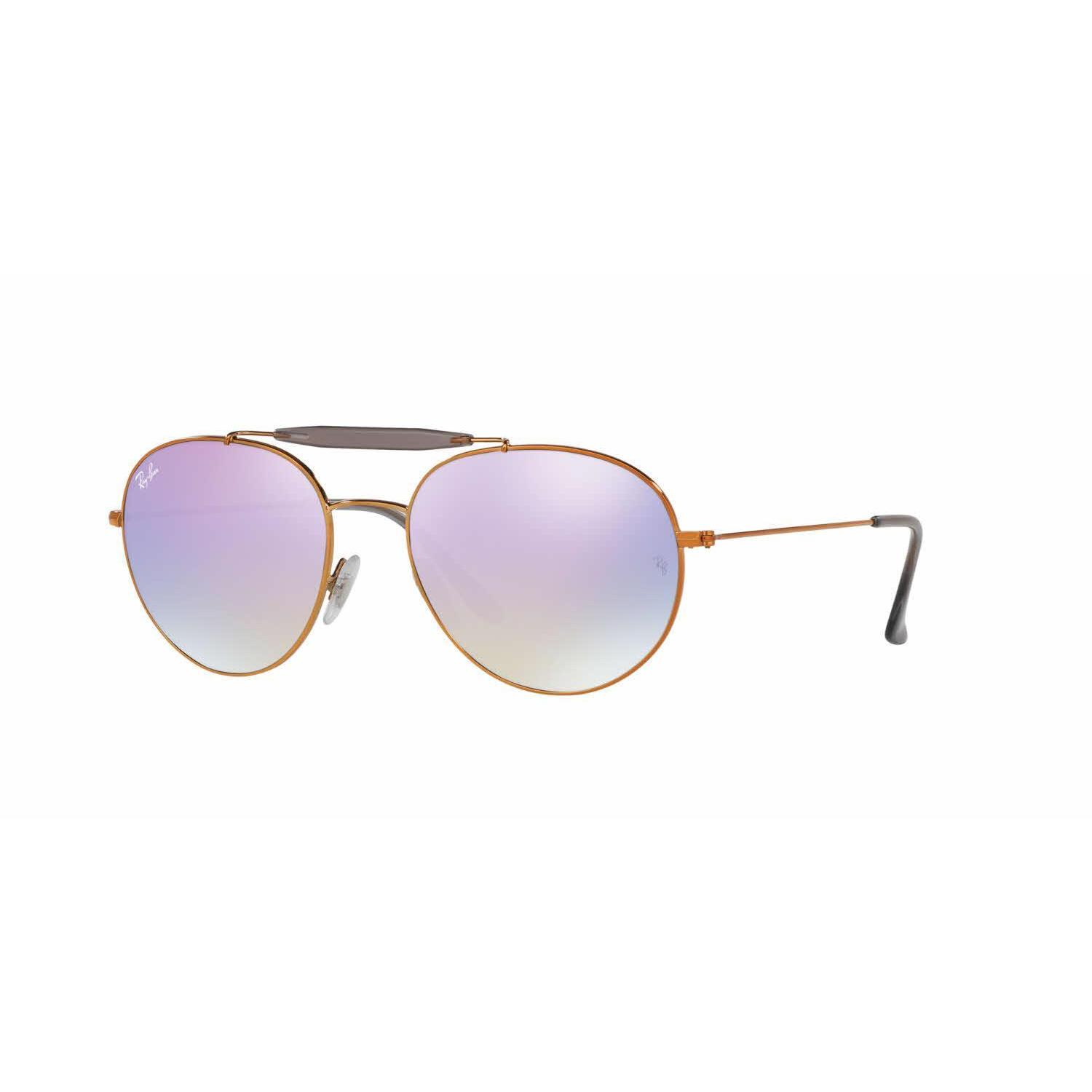 7e306946a9f536 Shop Ray Ban Women RB3540 198 7X Bronze Copper Metal Phantos Sunglasses -  Free Shipping Today - Overstock.com - 13325438