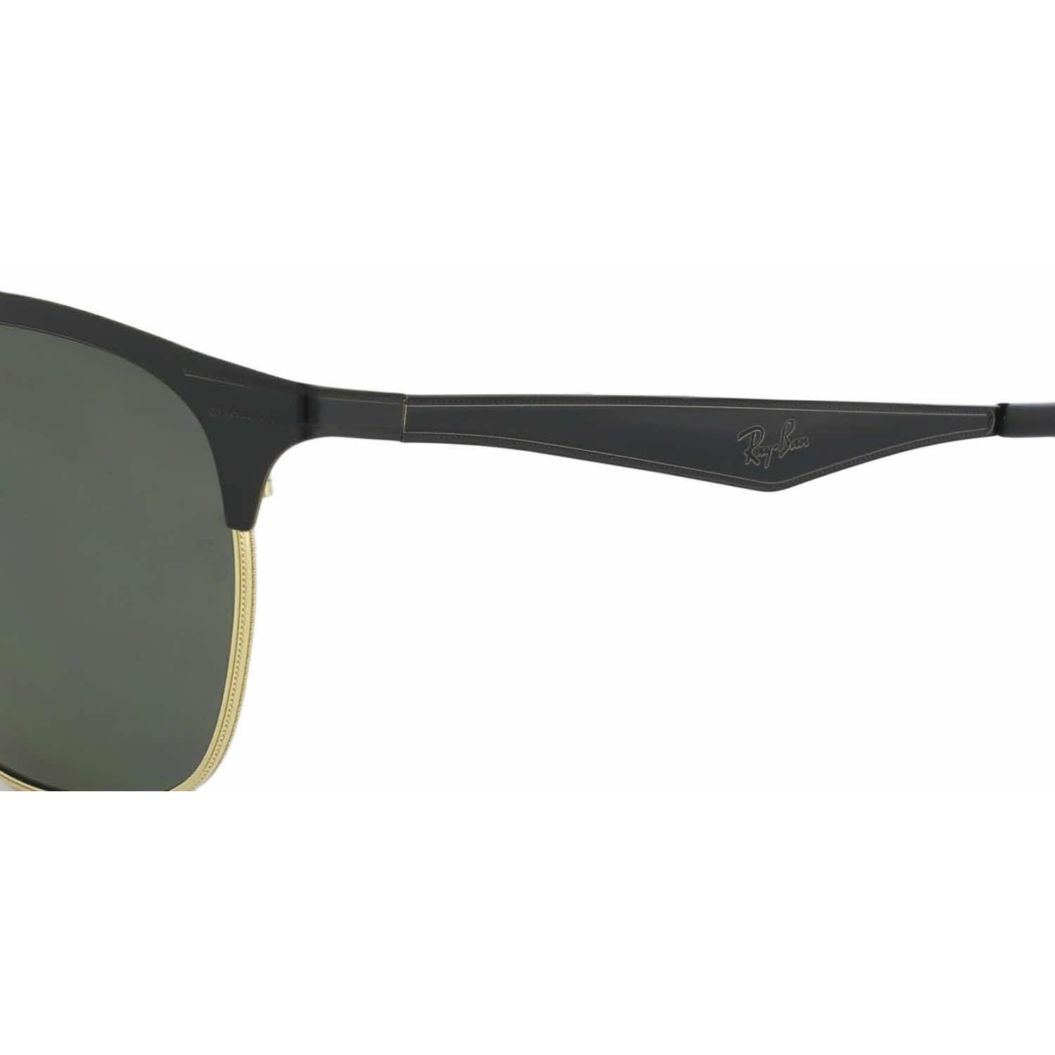 Shop Ray Ban Women RB3538 187 9A Black Metal Square Sunglasses - Free  Shipping Today - Overstock.com - 13325470 85d972c569ba