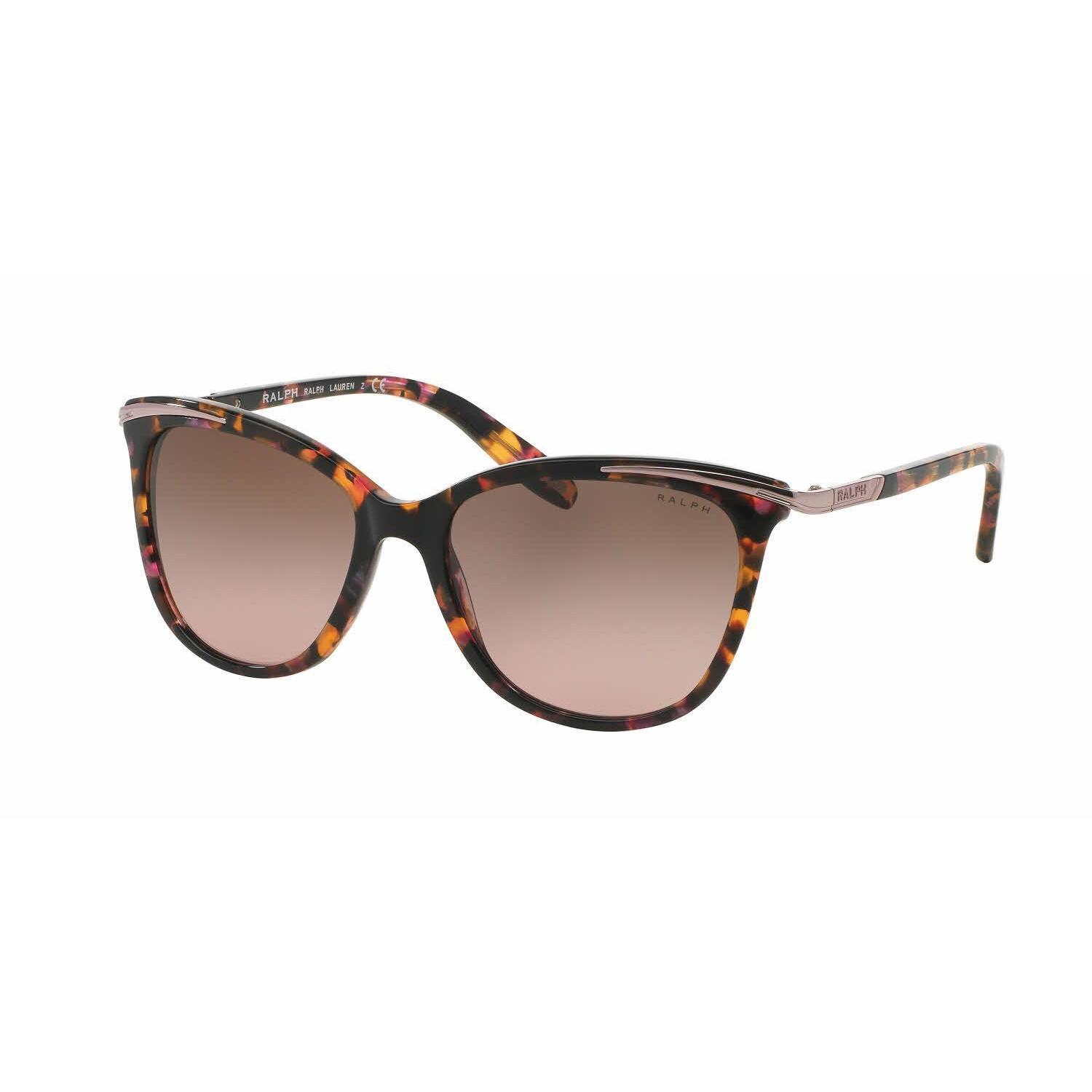 fdc635f5e5 Shop Ralph Women RA5203 146114 Pink Plastic Cat Eye Sunglasses - Free  Shipping Today - Overstock.com - 13325841