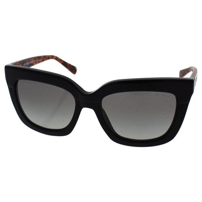 564e031fc420 Shop Michael Kors Women MK2013 POLYNESIA 306511 Havana Plastic Square  Sunglasses - Free Shipping Today - Overstock - 13327230