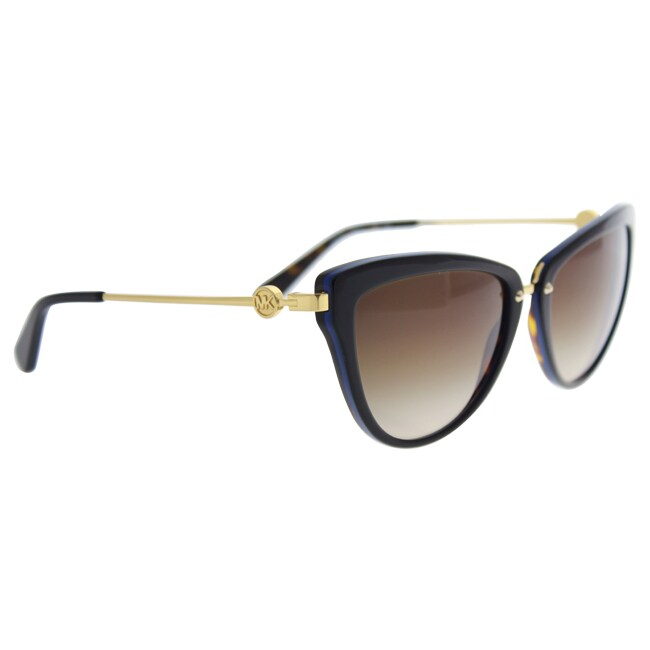 Shop Michael Kors Women MK6039 ABELA II 314713 Havana Metal Cat Eye  Sunglasses - Free Shipping Today - Overstock.com - 13327602 b966aa3c8d