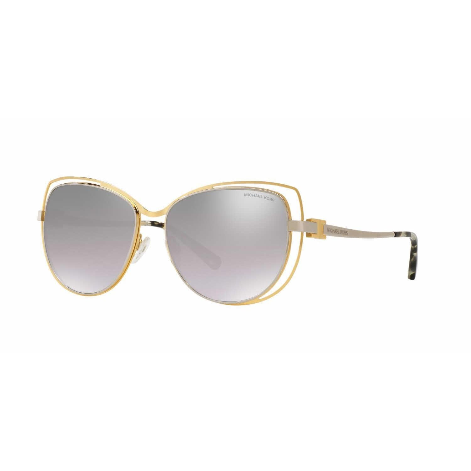 19951afbfb Shop Michael Kors Women MK1013 AUDRINA I 11196V Gold Metal Cat Eye  Sunglasses - Free Shipping Today - Overstock - 13328129
