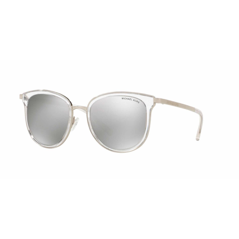5ea72bf494f Shop Michael Kors Women MK1010 ADRIANNA I 11026G Clear Metal Phantos  Sunglasses - Free Shipping Today - Overstock - 13328140