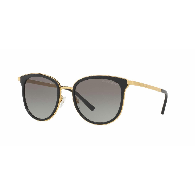 85152d7015495 Shop Michael Kors Women MK1010 ADRIANNA I 110011 Black Metal Phantos  Sunglasses - Free Shipping Today - Overstock - 13328142