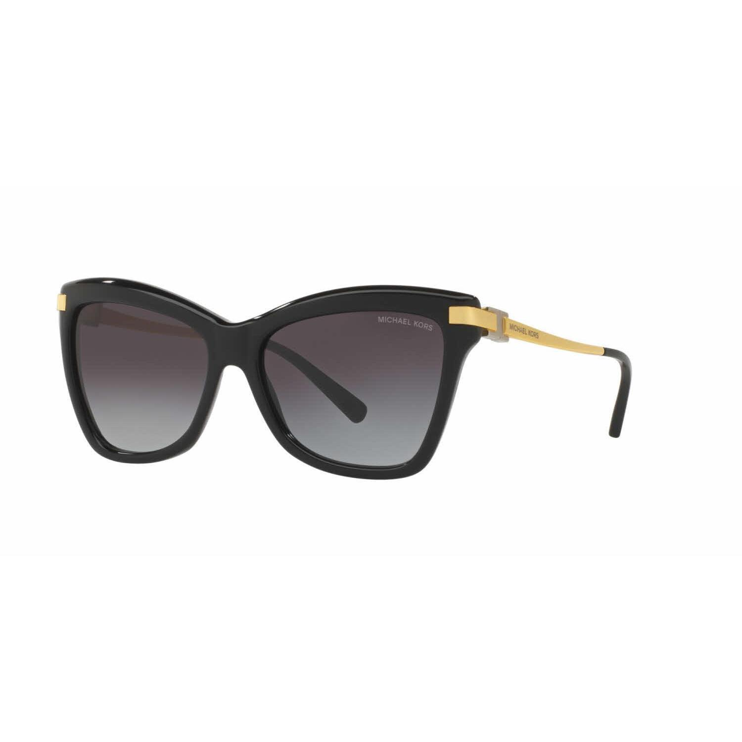 0f09dd71ca Michael Kors Women MK2027 AUDRINA III 317111 Black Metal Cat Eye Sunglasses  - Free Shipping Today - Overstock.com - 20032456