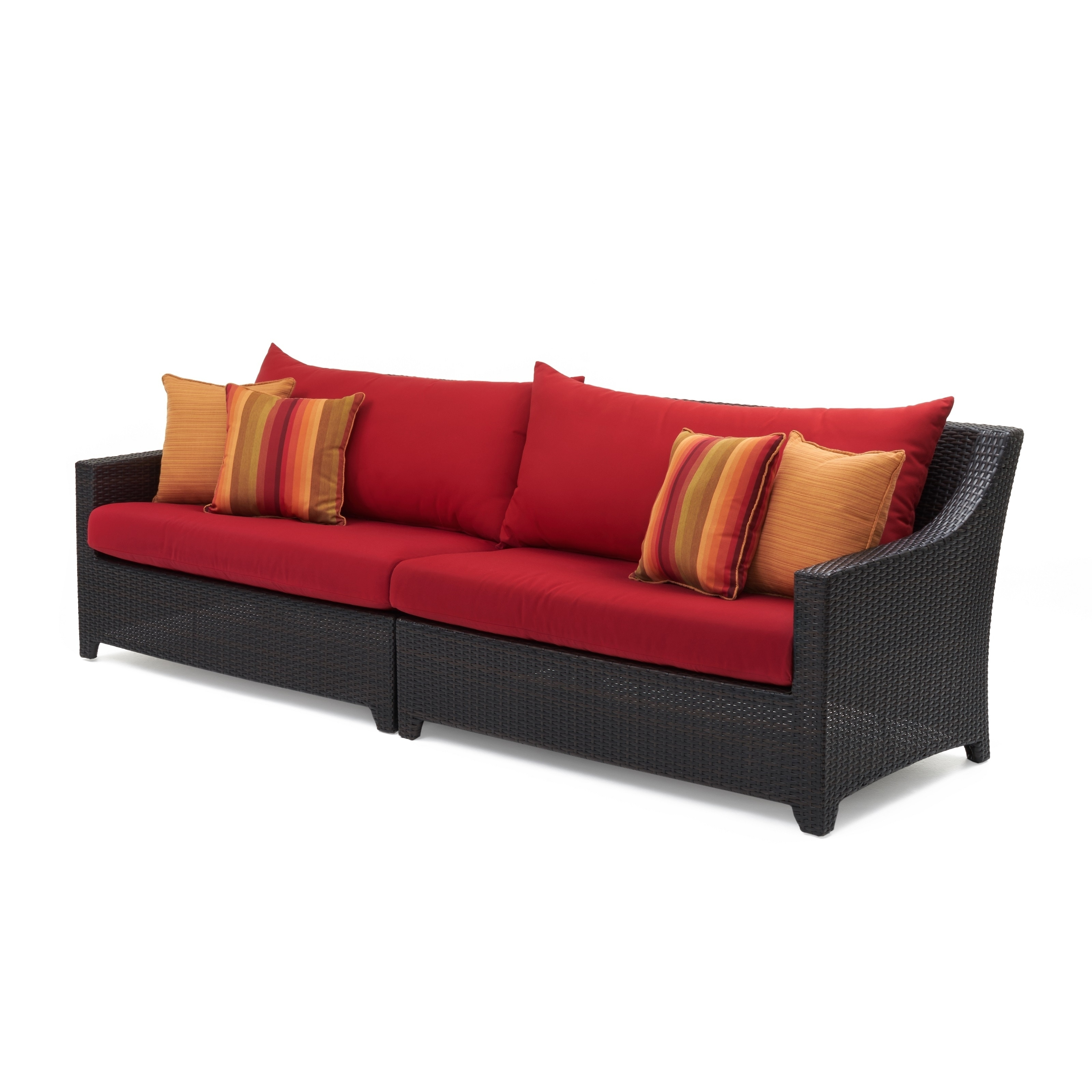 Deco Sofa In Sunset Red By Rst Brands Free Shipping Today 13330085