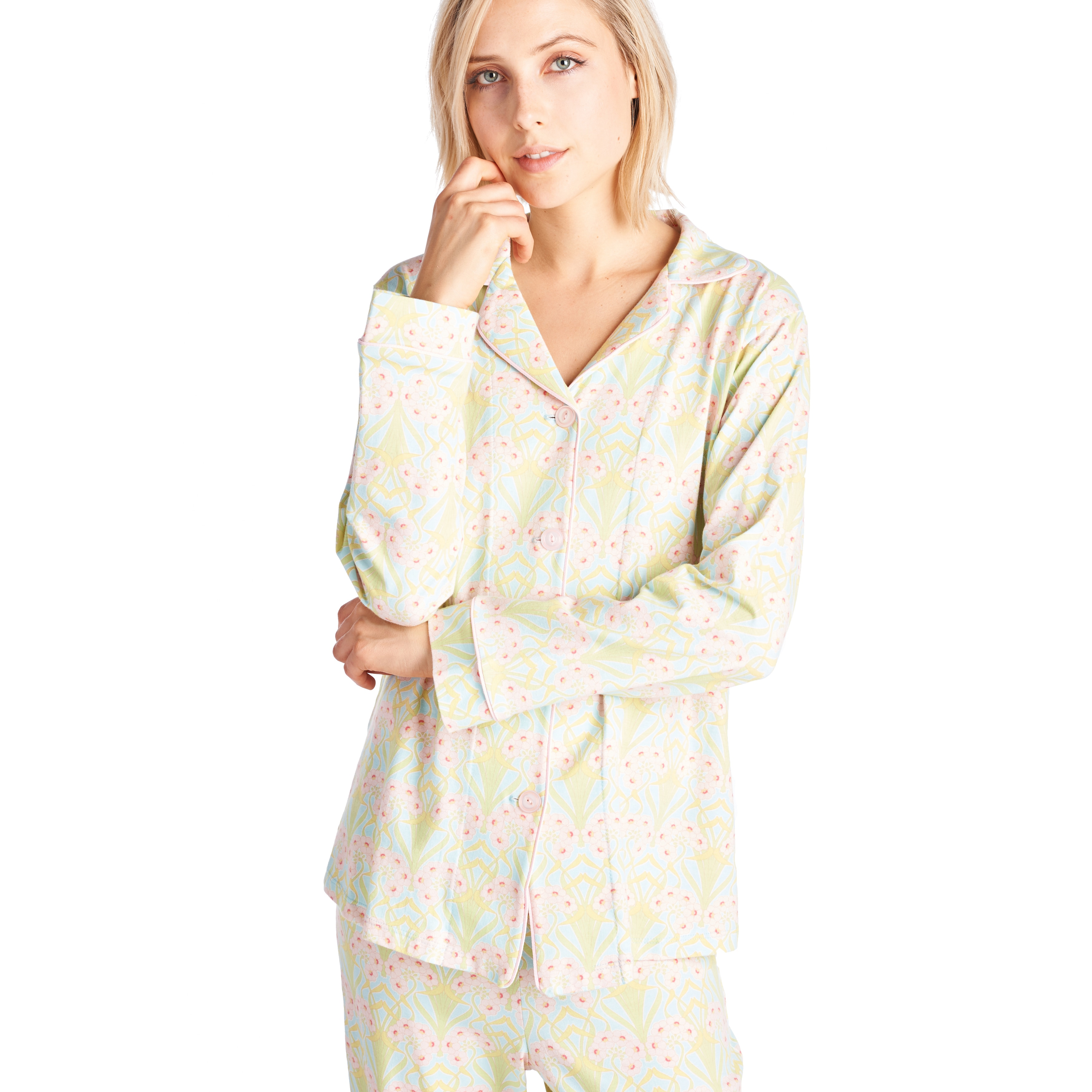 Shop BedHead Pajamas Classic Long Sleeve Cotton and Spandex Pajama Set -  Free Shipping Today - Overstock - 13330307 e173acc0e