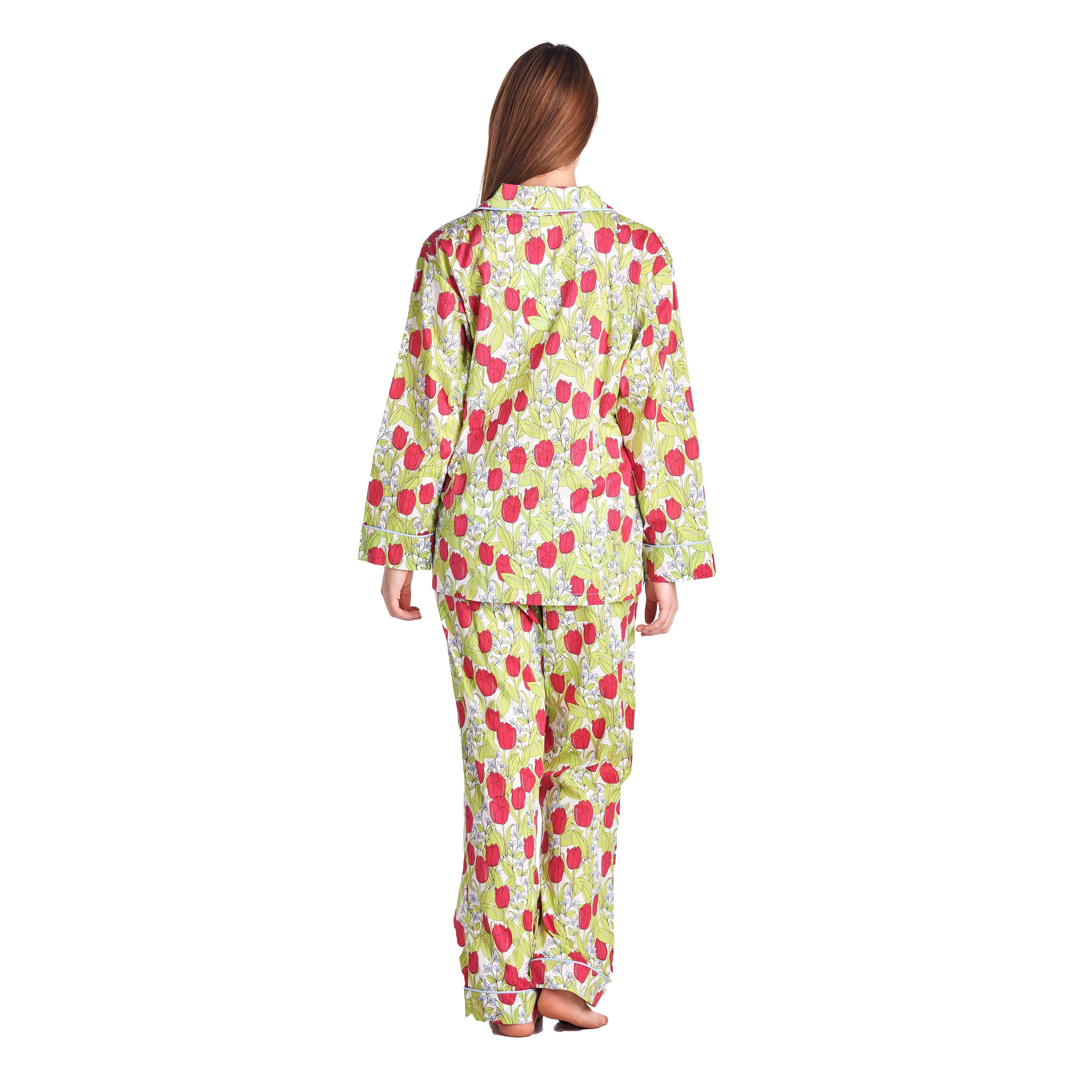 72fd53763 Shop Bedhead Pajamas Women's Multicolor Cotton Classic Long-sleeve Pajama  Set - Free Shipping Today - Overstock - 13330402