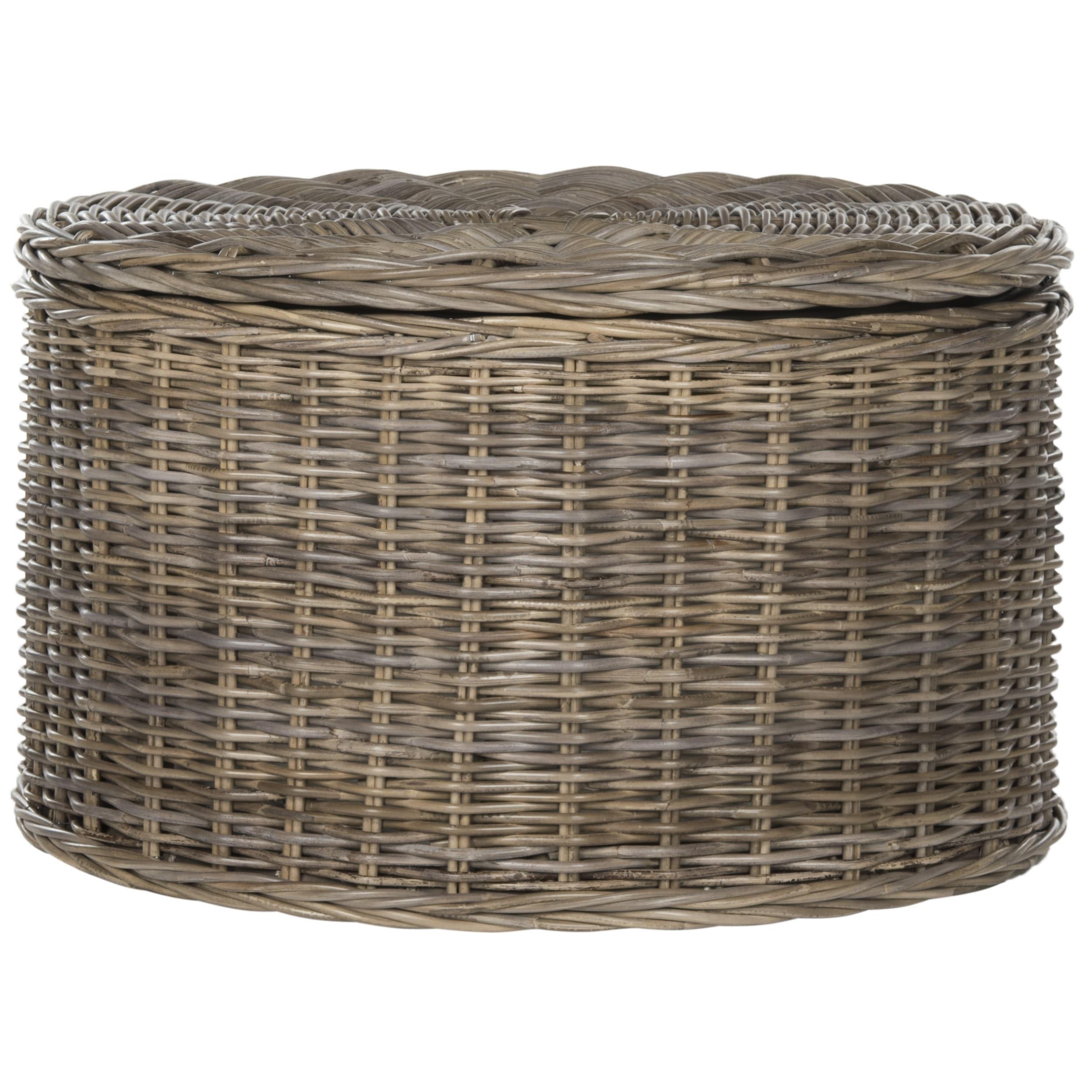 Safavieh Jesse Wicker Storage Coffee Table Free Shipping Today 13339502