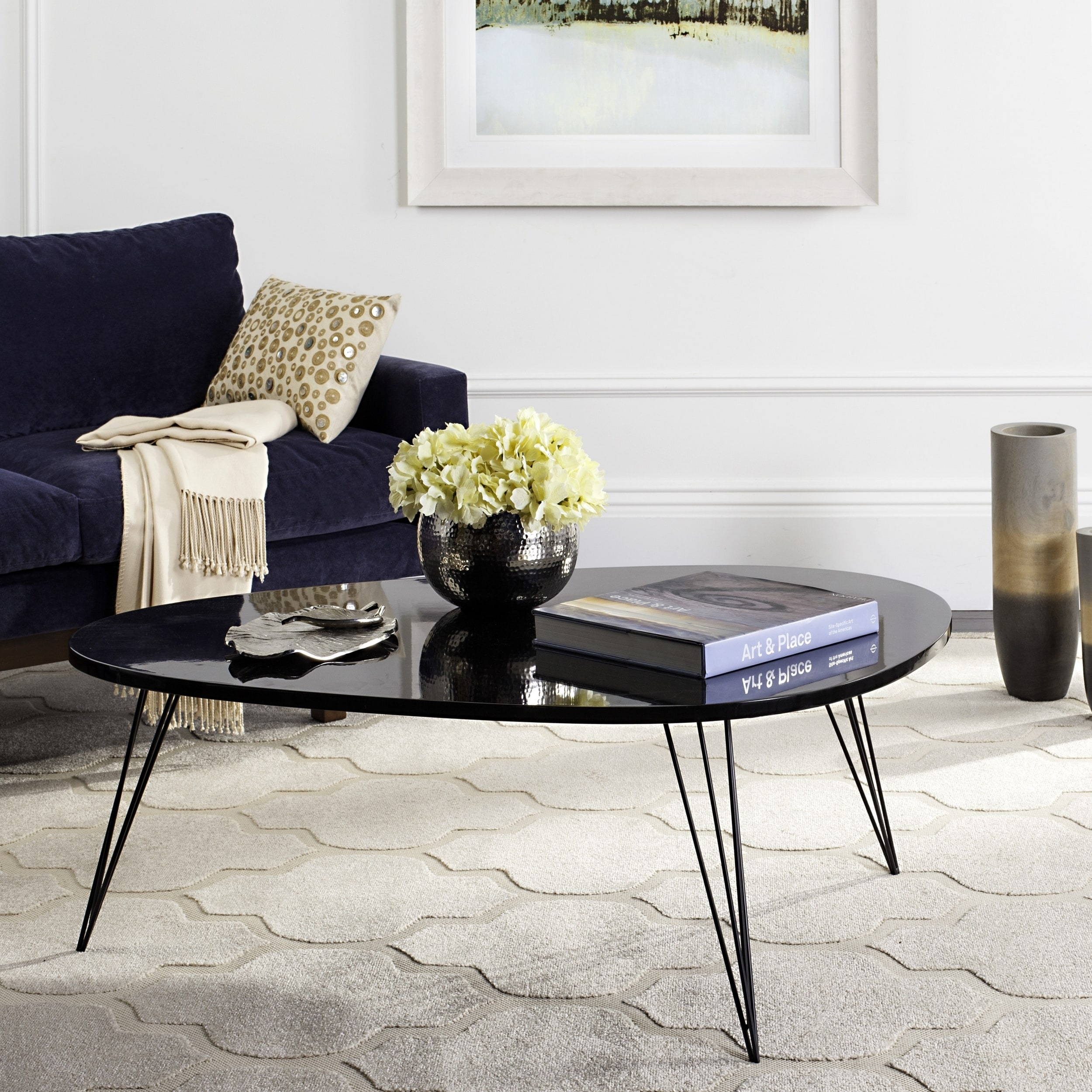 Safavieh Mid Century Wynton Lacquer Coffee Table Free Shipping