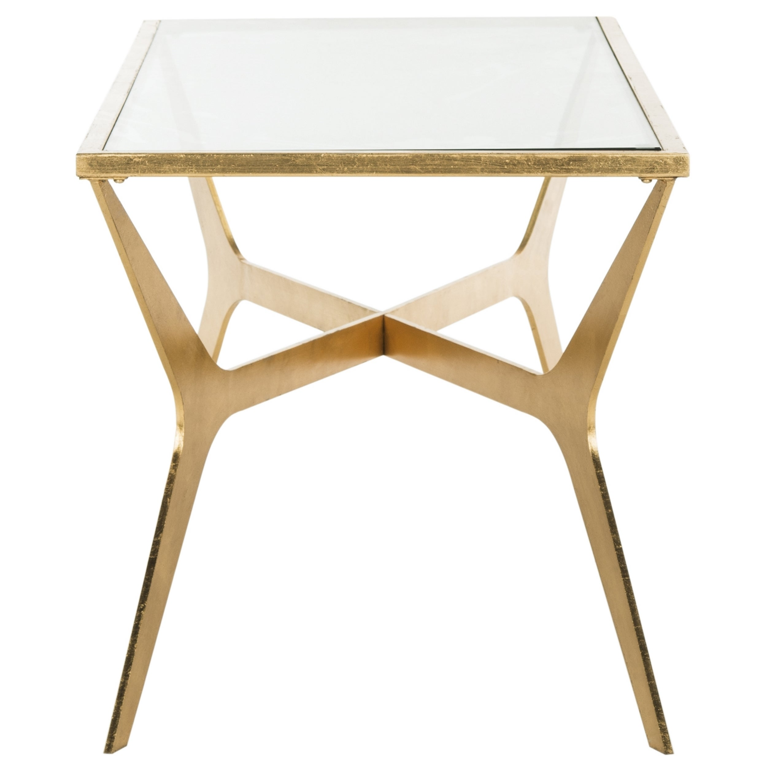 Gold Leaf Gl Coffee Table Shapeyourminds Com