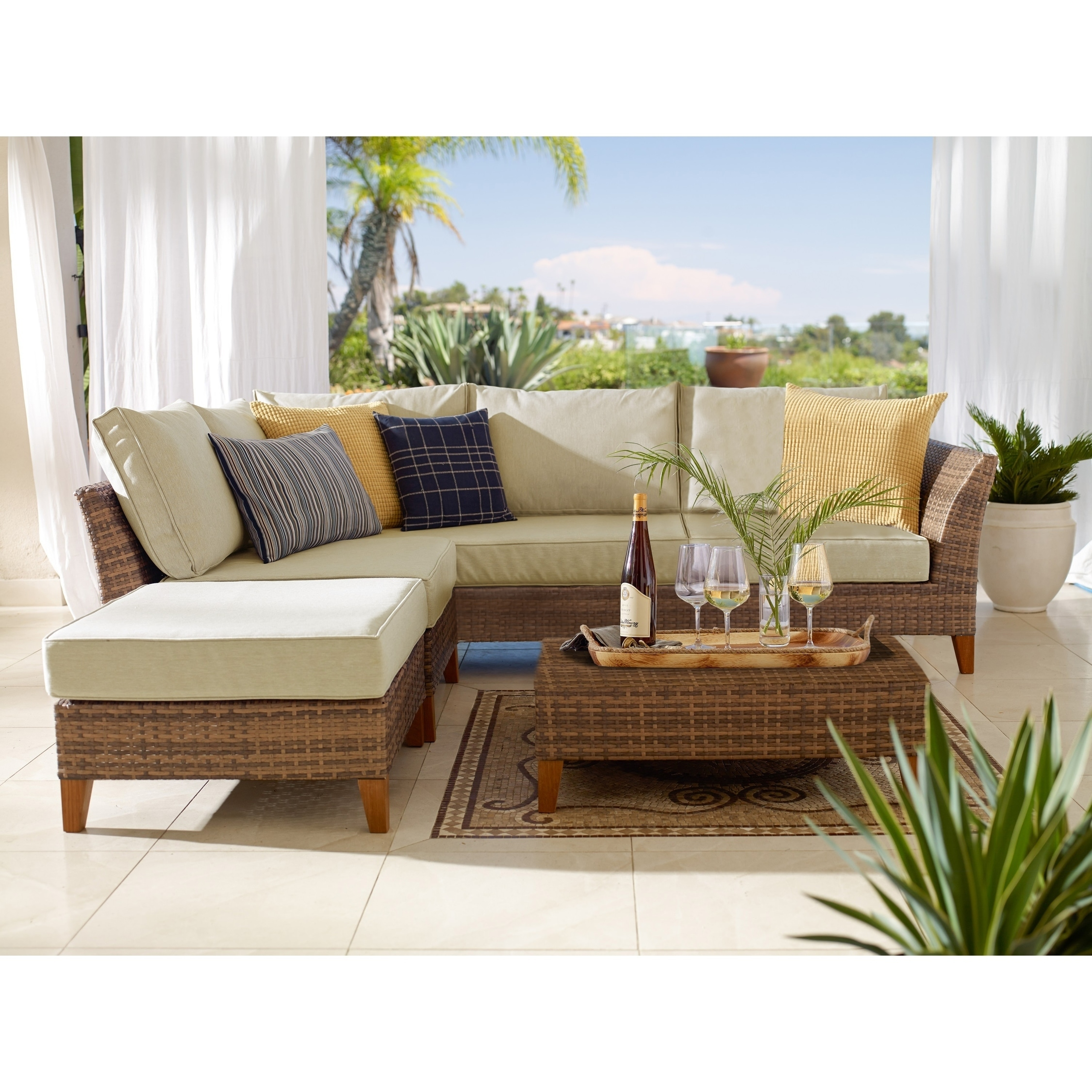 Piedmont 9 Piece Sectional Sofa Set   Free Shipping Today   Overstock    20043867