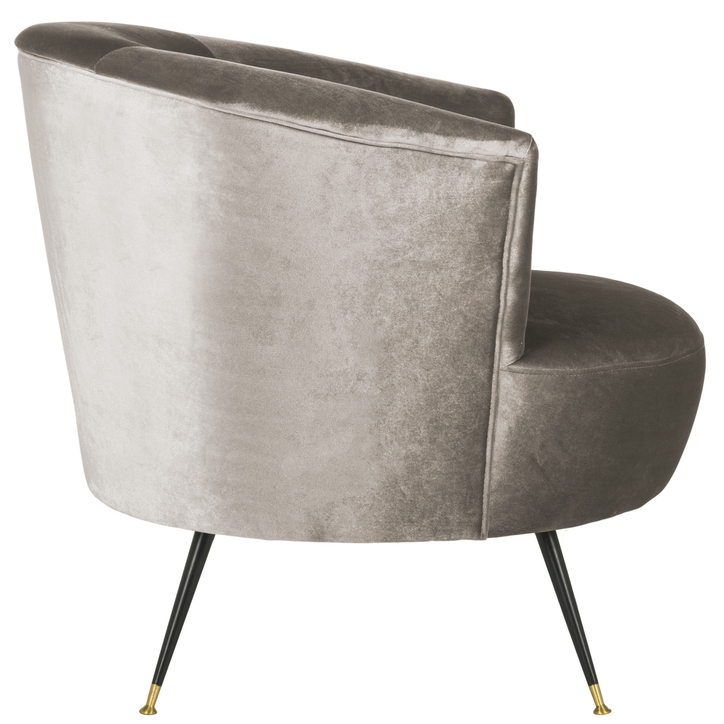 Shop Safavieh Mid Century Modern Retro Arlette Velvet Hazelwood Club Chair    On Sale   Free Shipping Today   Overstock.com   13341767
