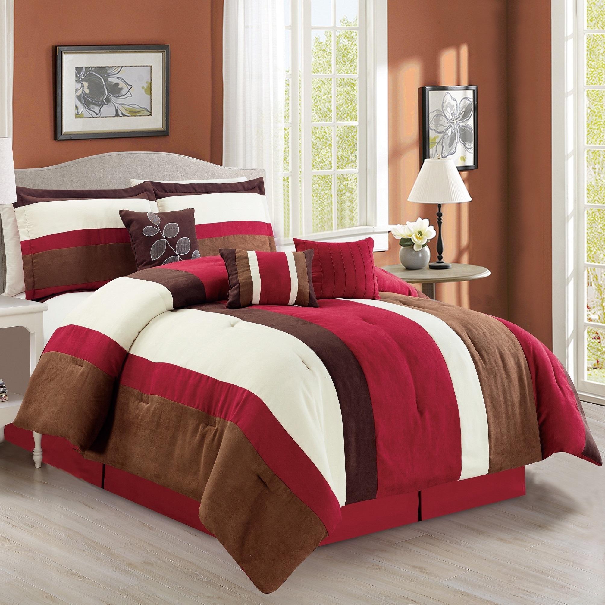 set light p r chocolate browning deer comforter buckmark suede bedding