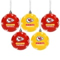 Kansas City Chiefs 2016 NFL Shatterproof Ball Ornaments
