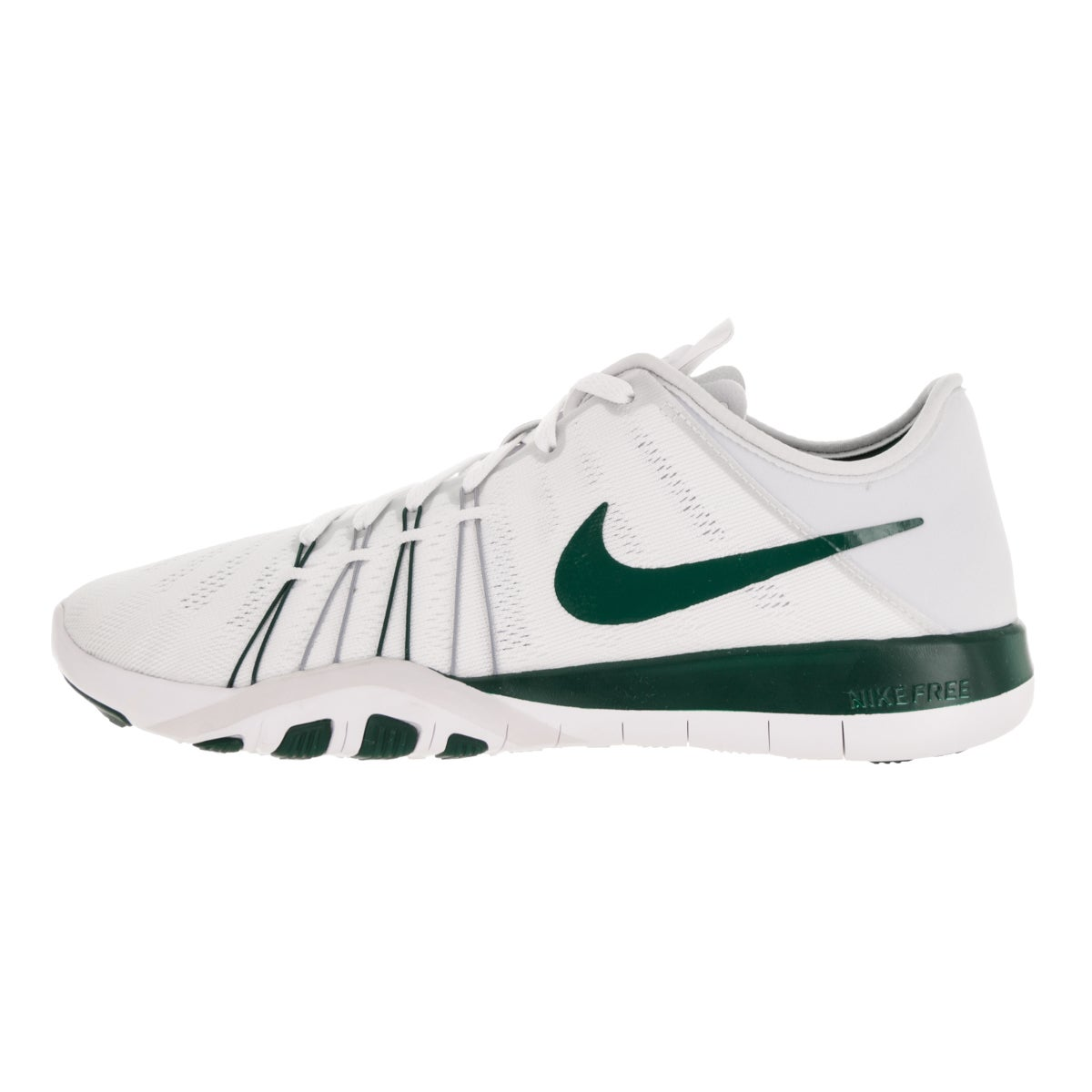 b4f917594f9f Shop Nike Women s Free Tr 6 White Gorge Green Pure Platinum Training Shoes  - Free Shipping Today - Overstock.com - 13344064