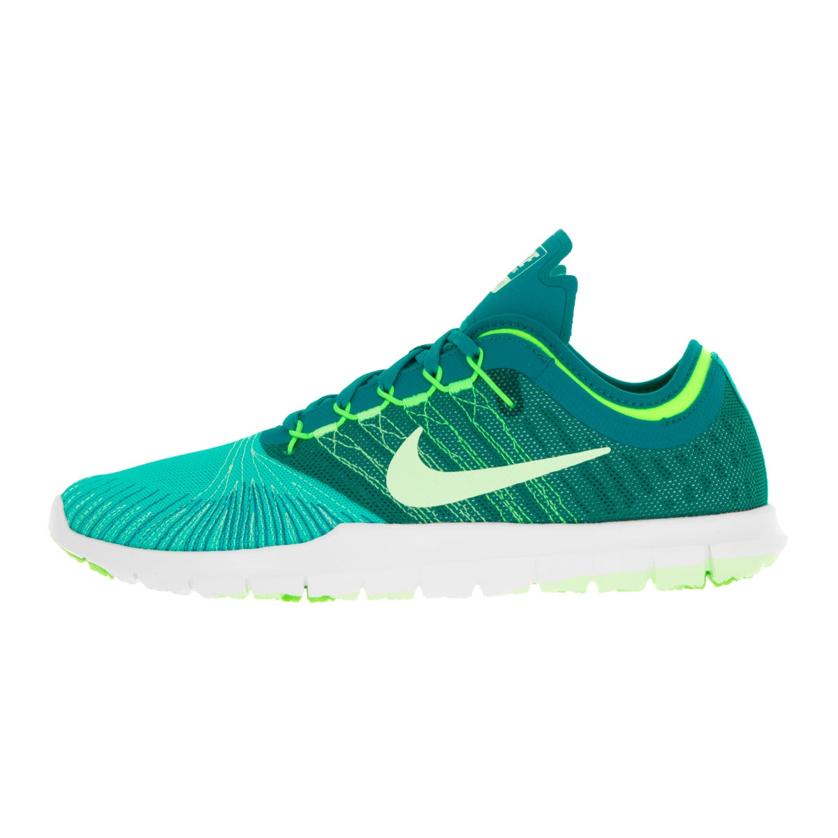 Nike Women's Flex Adapt Tr Green and White Textile Training Shoes - Free  Shipping Today - Overstock.com - 20046509
