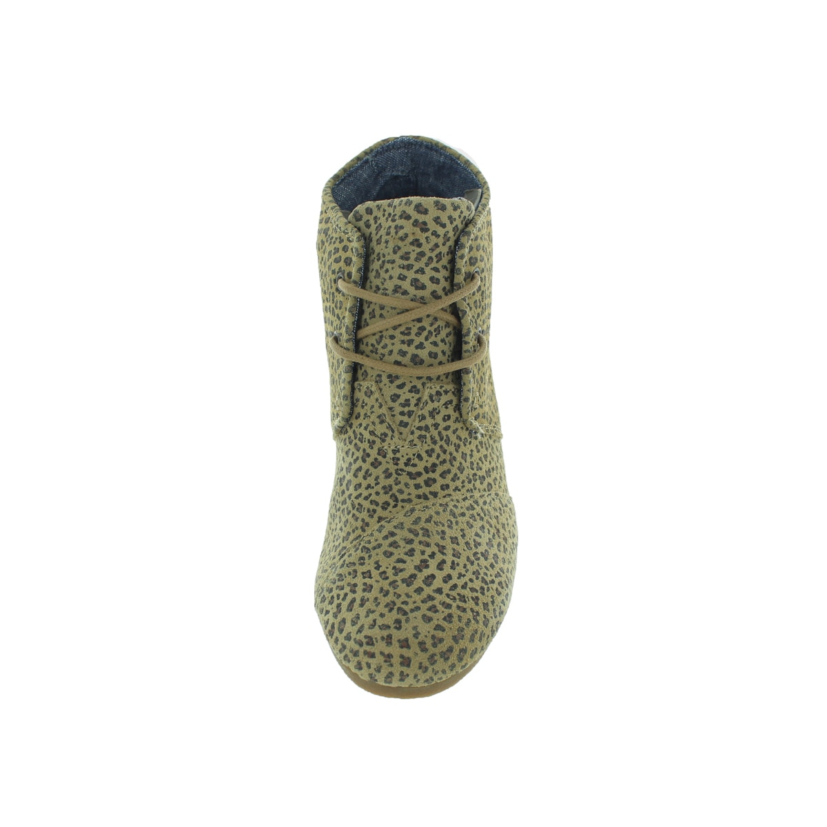 c2d968d4f85 Shop Toms Women s Desert Wedge Cheetah Suede Casual Shoe - Free Shipping  Today - Overstock - 13344182