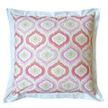 Dena Home Retreat Pink European Square Sham