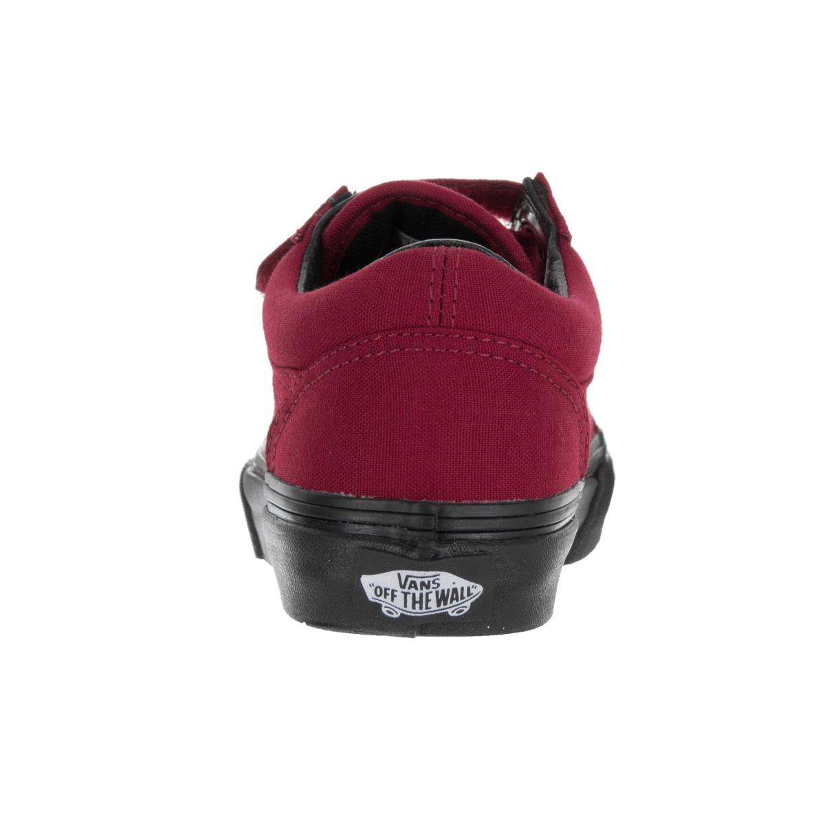 Shop Vans Kids Old Skool V (Black Sole) Jester Red Skate Shoe - Free  Shipping On Orders Over  45 - Overstock - 13344503 fbe0d9d50