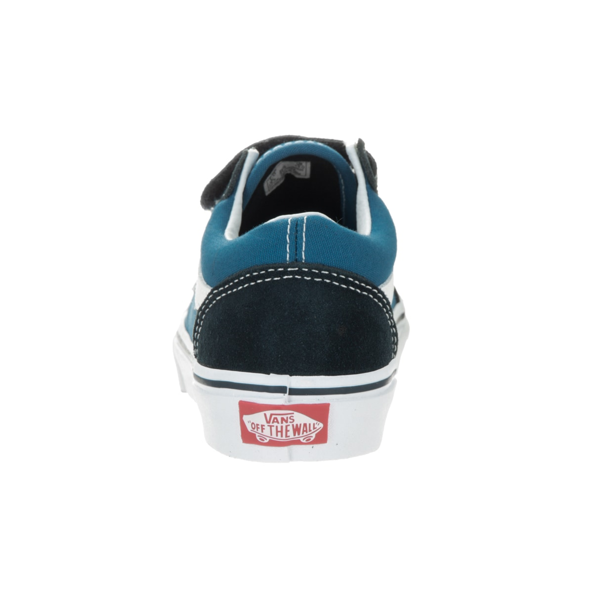 a4759bc872 Shop Vans Kids Old Skool V Navy True White Skate Shoe - Free Shipping On  Orders Over  45 - Overstock - 13344514