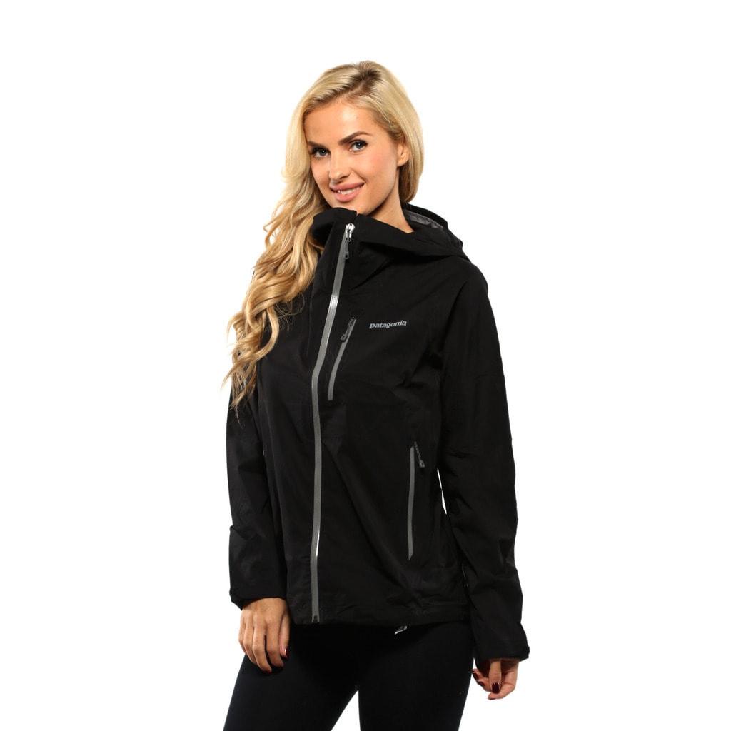 Shop Patagonia Women s Black Stretch Rainshadow Jacket - Free Shipping  Today - Overstock - 13344583 7c6e69c52