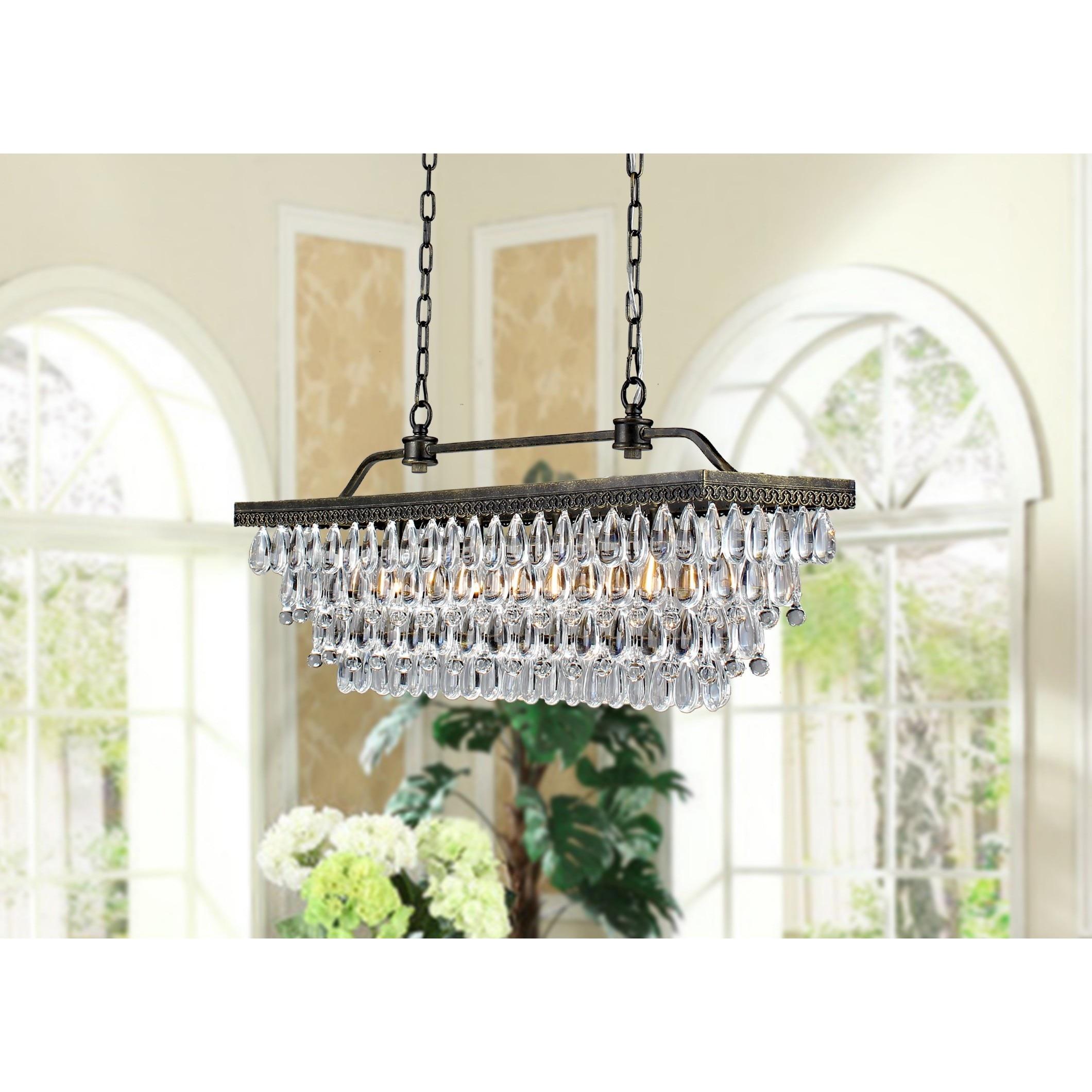 shop hemera 4 light crystal chandelier on sale ships to canada