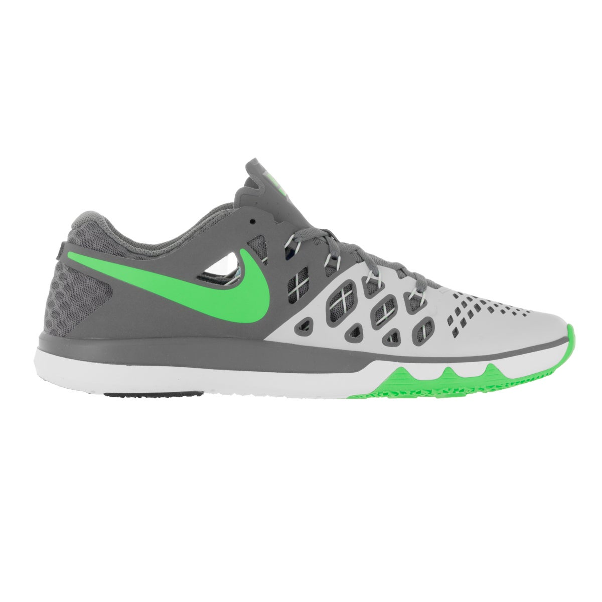 0baec0ef702c Shop Nike Men s Train Speed 4 Pure Platinum Rage Green Training Shoe - Free  Shipping Today - Overstock - 13392237