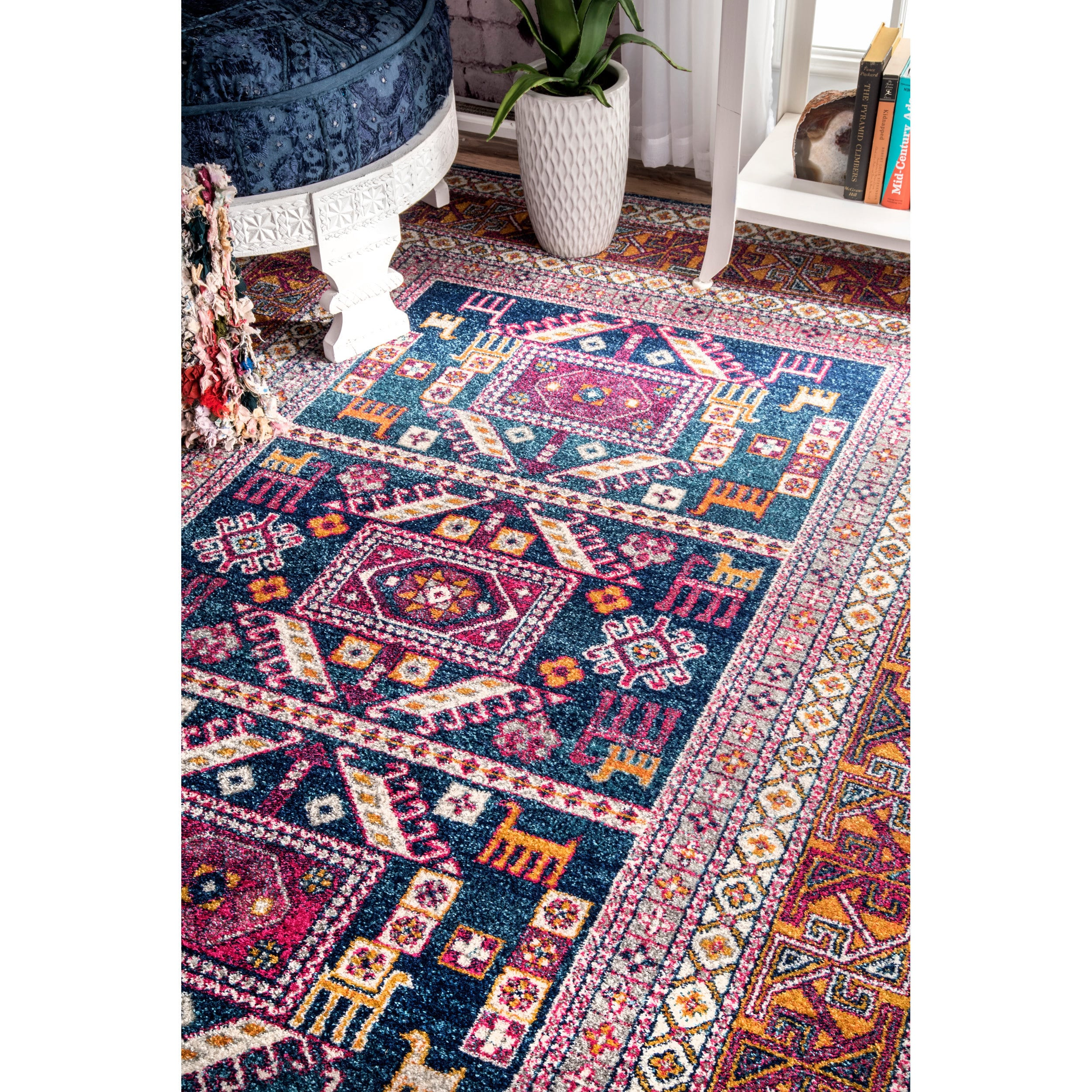 tribal arts view oriental crafts larger knotted rug photo x htm hand p