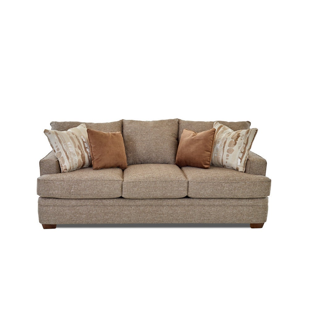 Incroyable Shop Made To Order Chadwick Sofa In Supreme Mineral W/ Pillows In Famous  Coconut   Free Shipping Today   Overstock.com   13392821