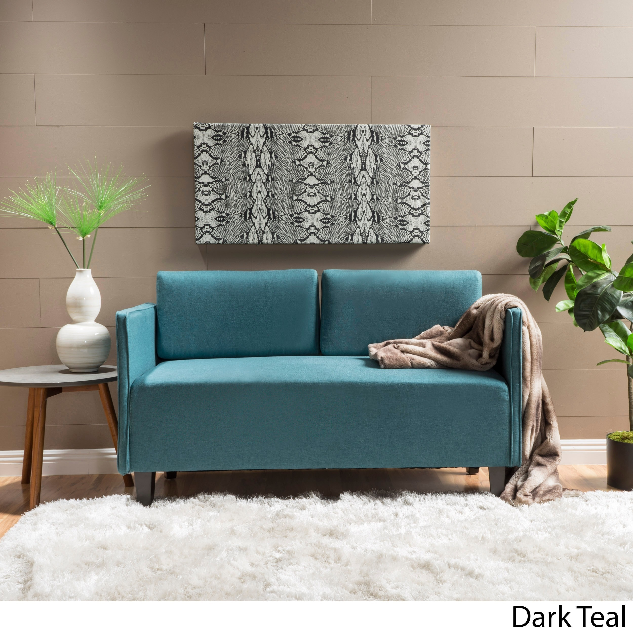 Sullivan Fabric Loveseat Sofa By Christopher Knight Home On Free Shipping Today 13393948