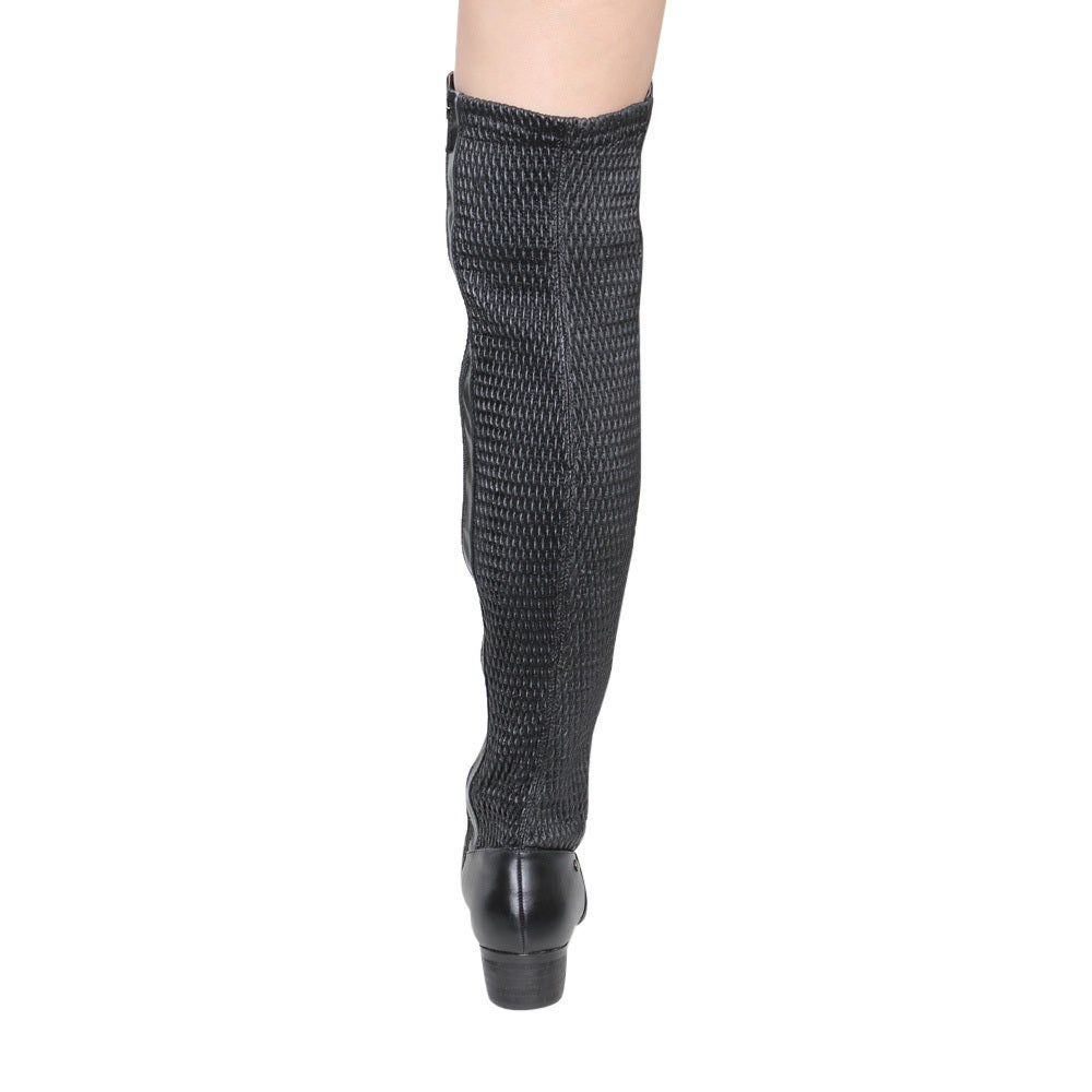 46090d8f954 Shop Jacobies GE43 Women s Over Knee-High Low Heel Elastic-back Riding Boots  - Free Shipping Today - Overstock - 13393956