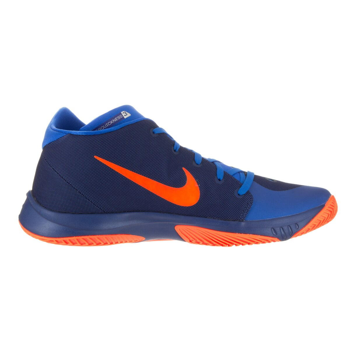 big sale b2efb 58ff1 Shop Nike Men s Zoom Hyperquickness 2015 Insignia Blue Bright Citrus Sr Basketball  Shoe - Free Shipping Today - Overstock - 13393996