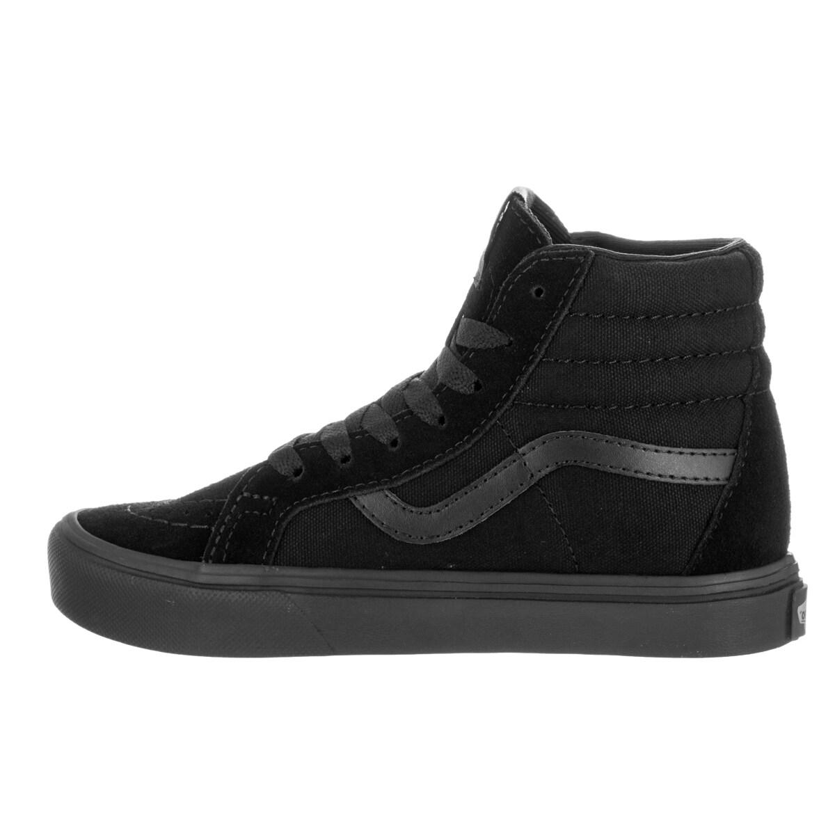 1286f9e881 Shop Vans Kids Sk8-Hi Reissue Lite Black Black Skate Shoes - Ships To  Canada - Overstock.ca - 13394016