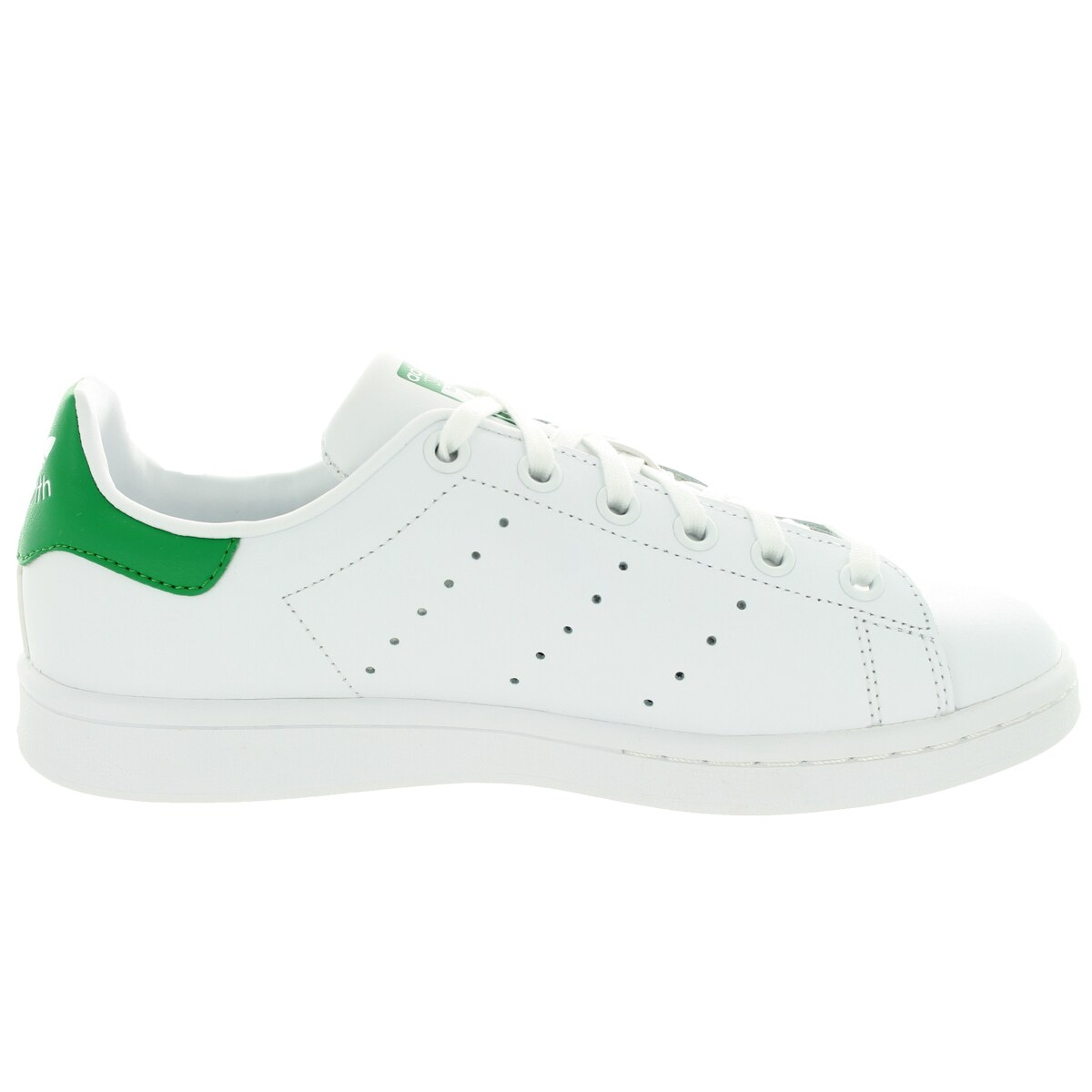 370c9c6b9 Shop Adidas Kids Stan Smith J Originals White Leather Casual Shoes - Free  Shipping Today - Overstock.com - 13394105