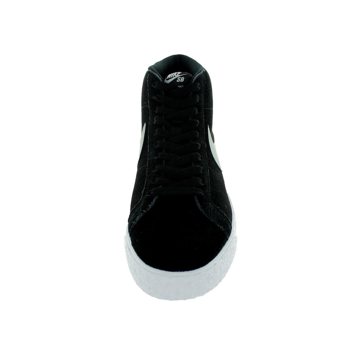e9f687aa999d Shop Nike Men s Blazer SB Premium SE Base Grey Black White Skate Shoe -  Free Shipping Today - Overstock - 13394161