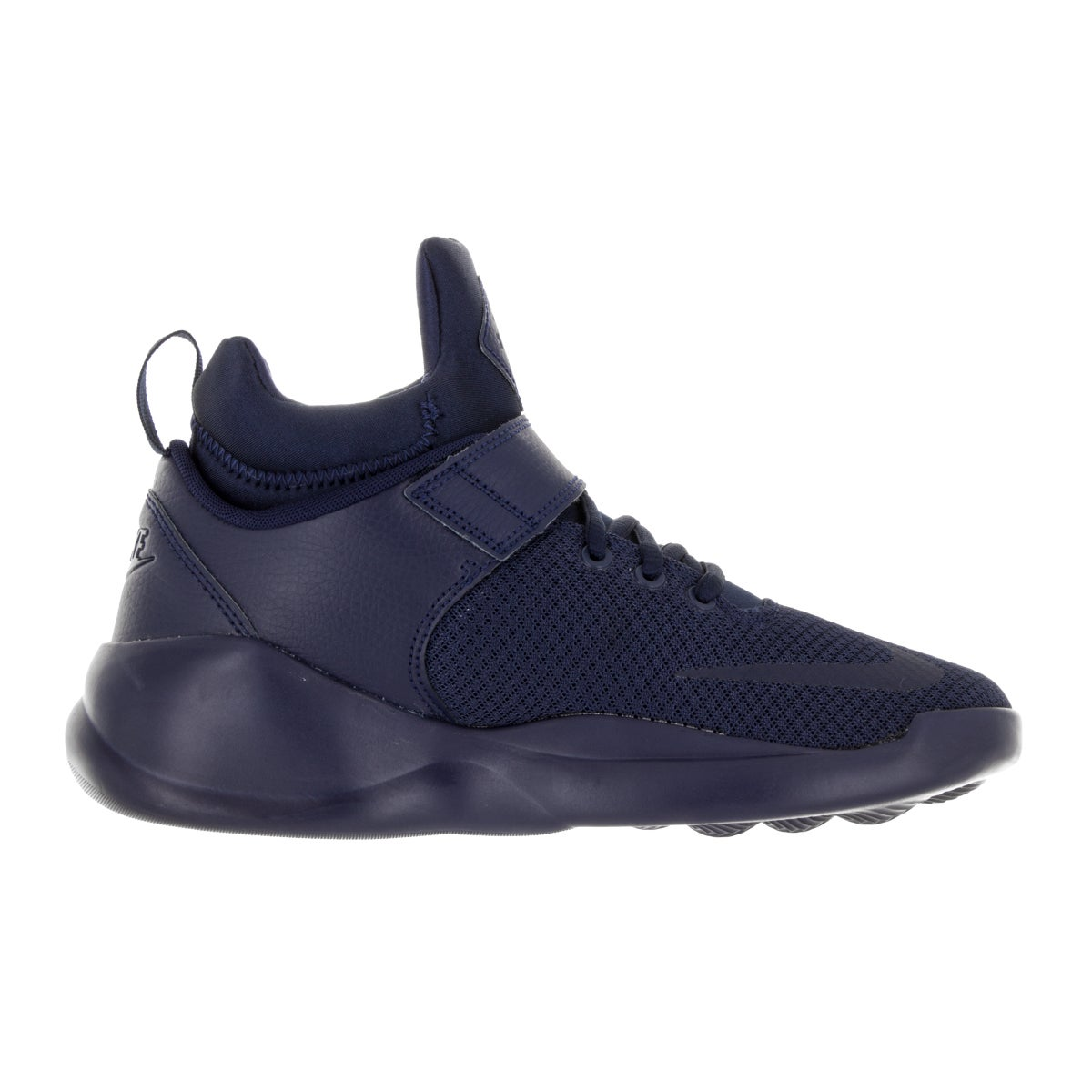 sports shoes aa7d4 585fd Shop Nike Kids  Kwazi (GS) Midnight Navy Basketball Shoe - Free Shipping  Today - Overstock.com - 13394194