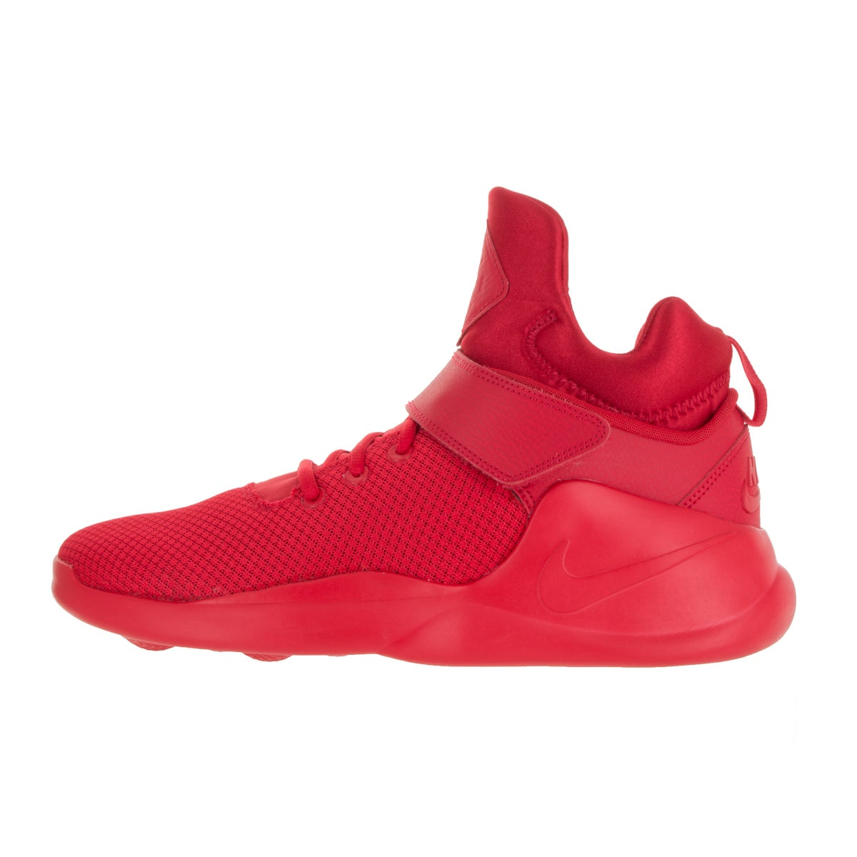 6a24b53ced7f Shop Nike Men s Kwazi Action Red Fabric Basketball Shoes - Free Shipping  Today - Overstock - 13394210