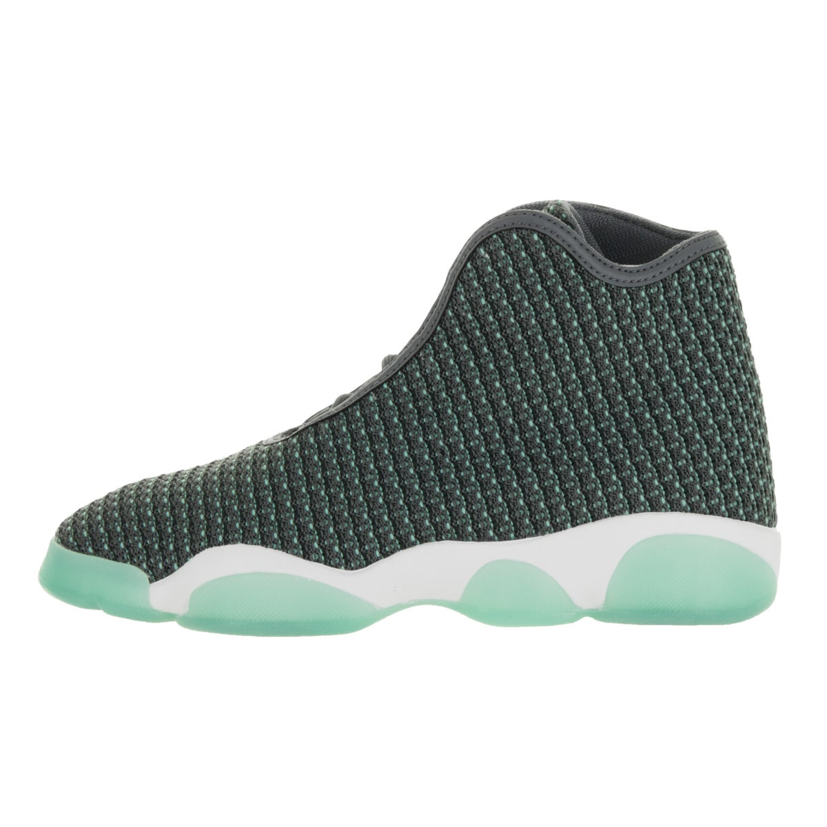a5c51e13bb0a ... canada nike jordan kids jordan horizon bg dark grey white and turquoise  textile basketball shoes free