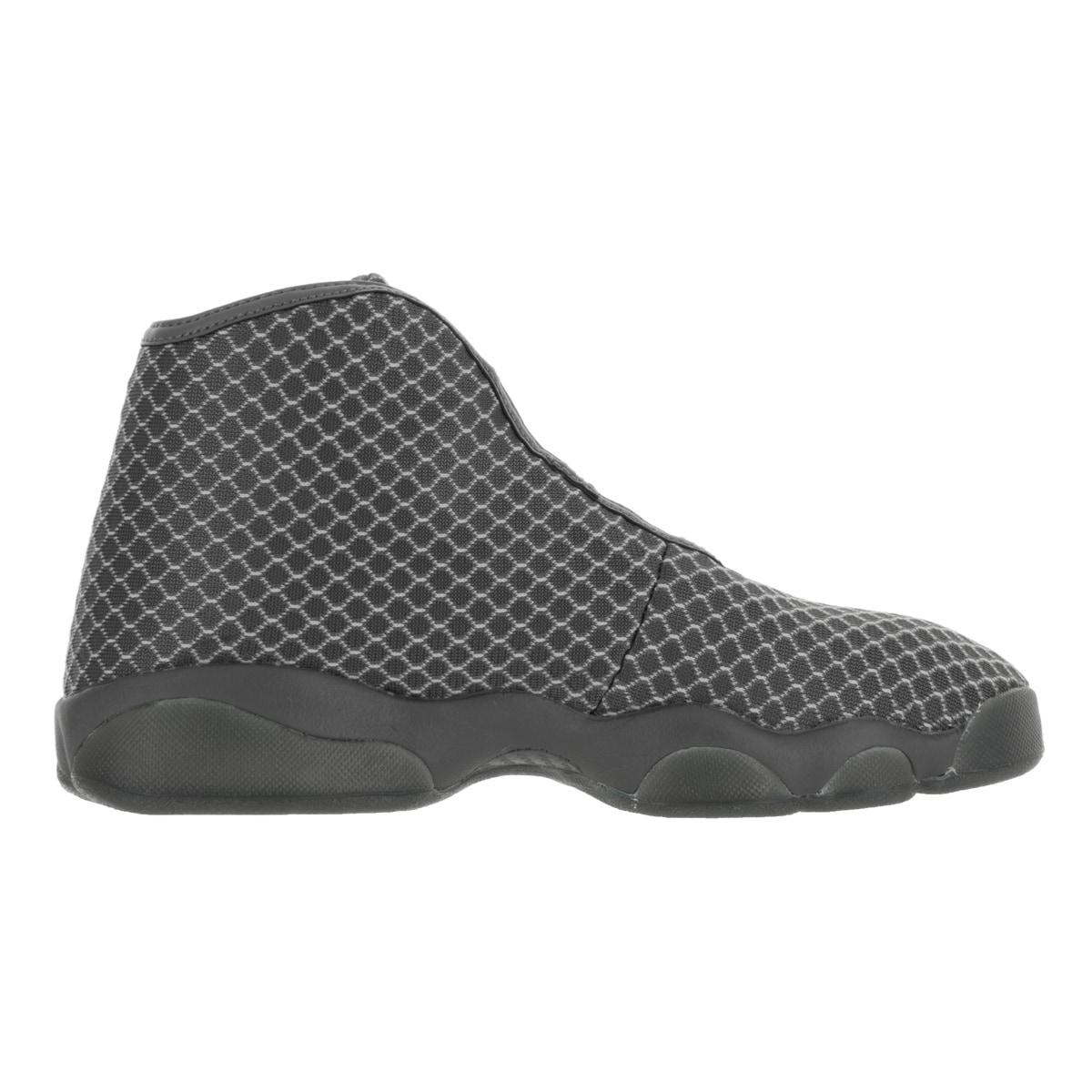 09f28ef6991 Shop Nike Jordan Kids Jordan Horizon BG Wolf Grey White Dark Grey  Basketball Shoes - Free Shipping Today - Overstock - 13394514