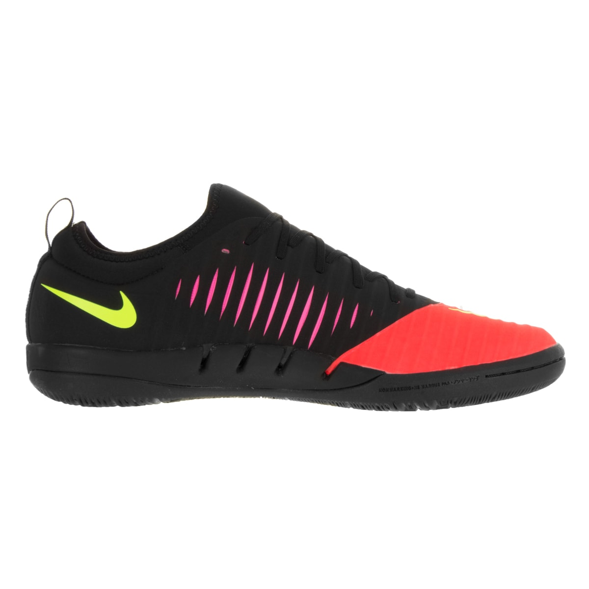 f62a32fb6 Shop Nike Men s Mercurialx Finale II IC Total Crimson Volt Blk Pink Blast  Black Indoor Soccer Shoe - Free Shipping Today - Overstock - 13394570