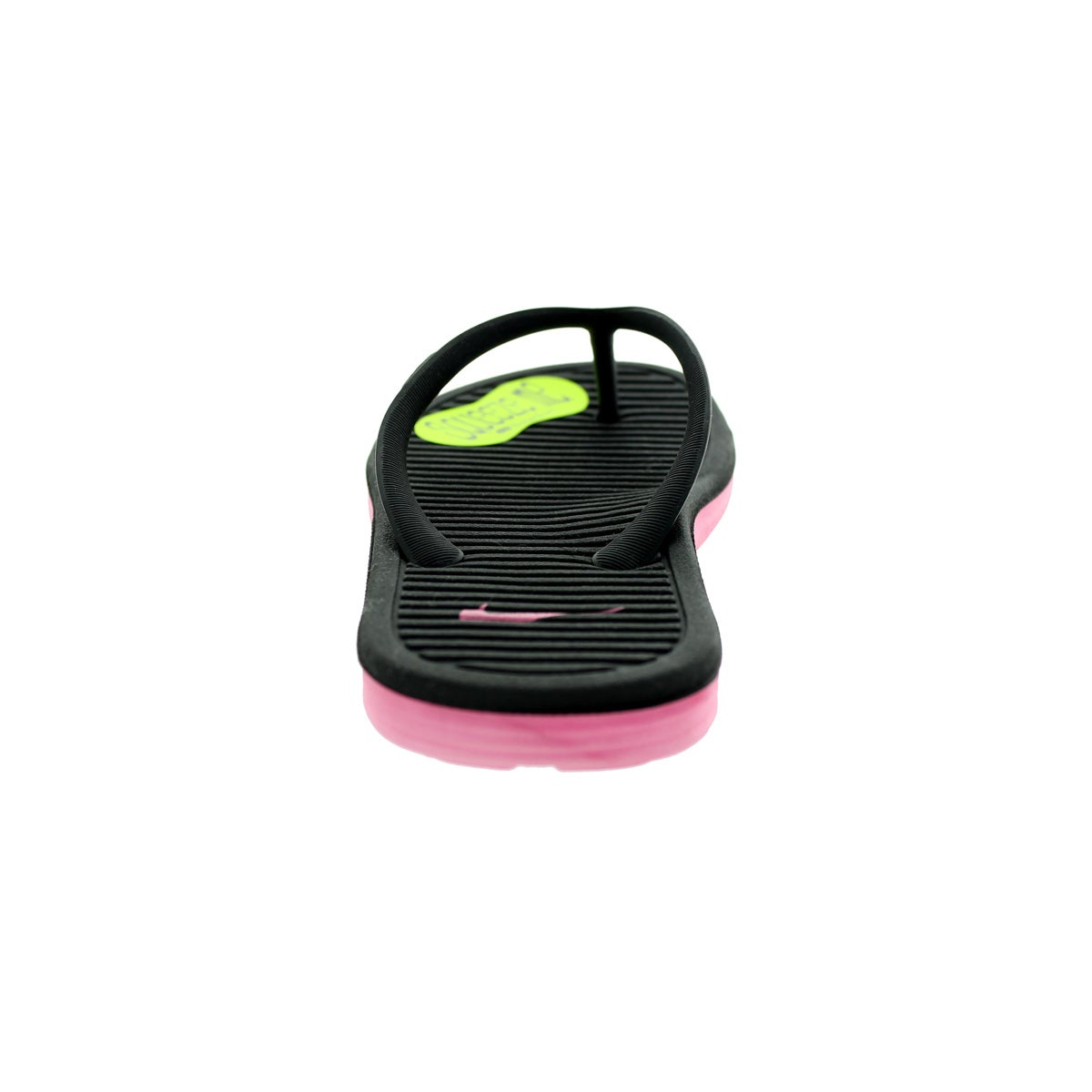 c94c4306c81b Shop Nike Kids Solarsoft Thong 2 (GS PS) Black Digital Pink Sandal - Free  Shipping On Orders Over  45 - Overstock - 13394642